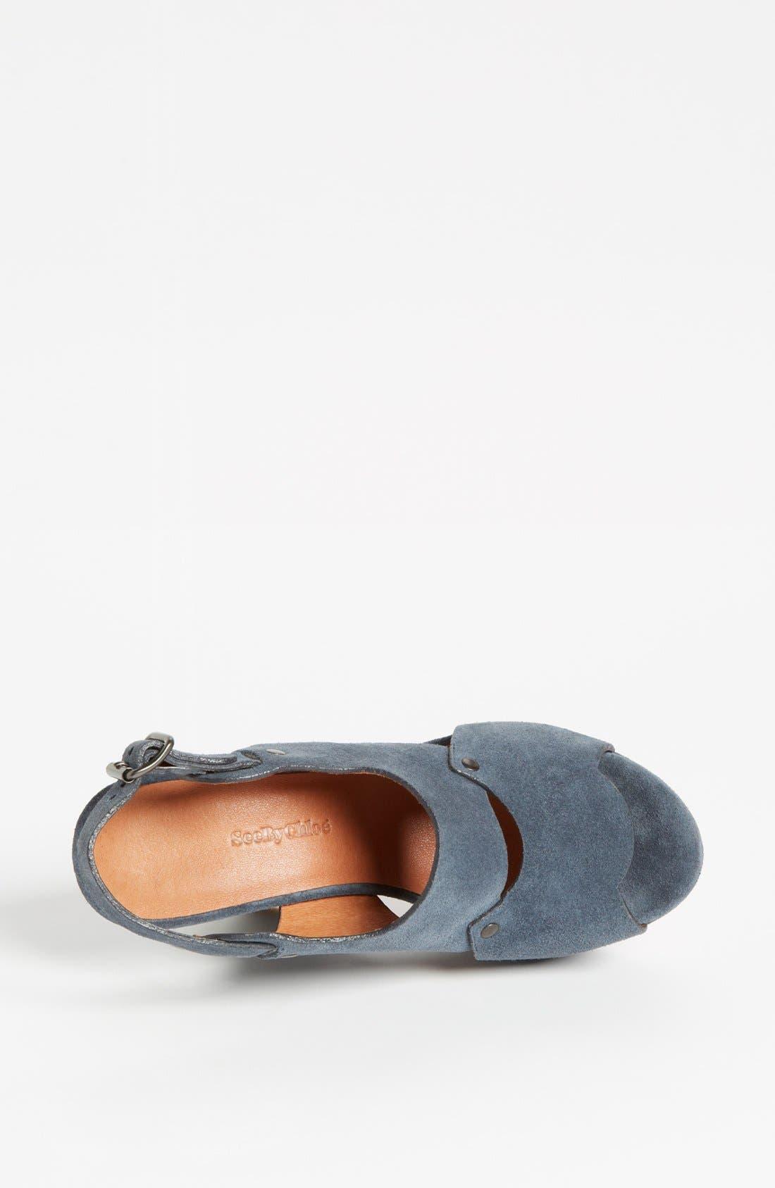 Alternate Image 3  - See by Chloé 'Eva' Wedge Sandal