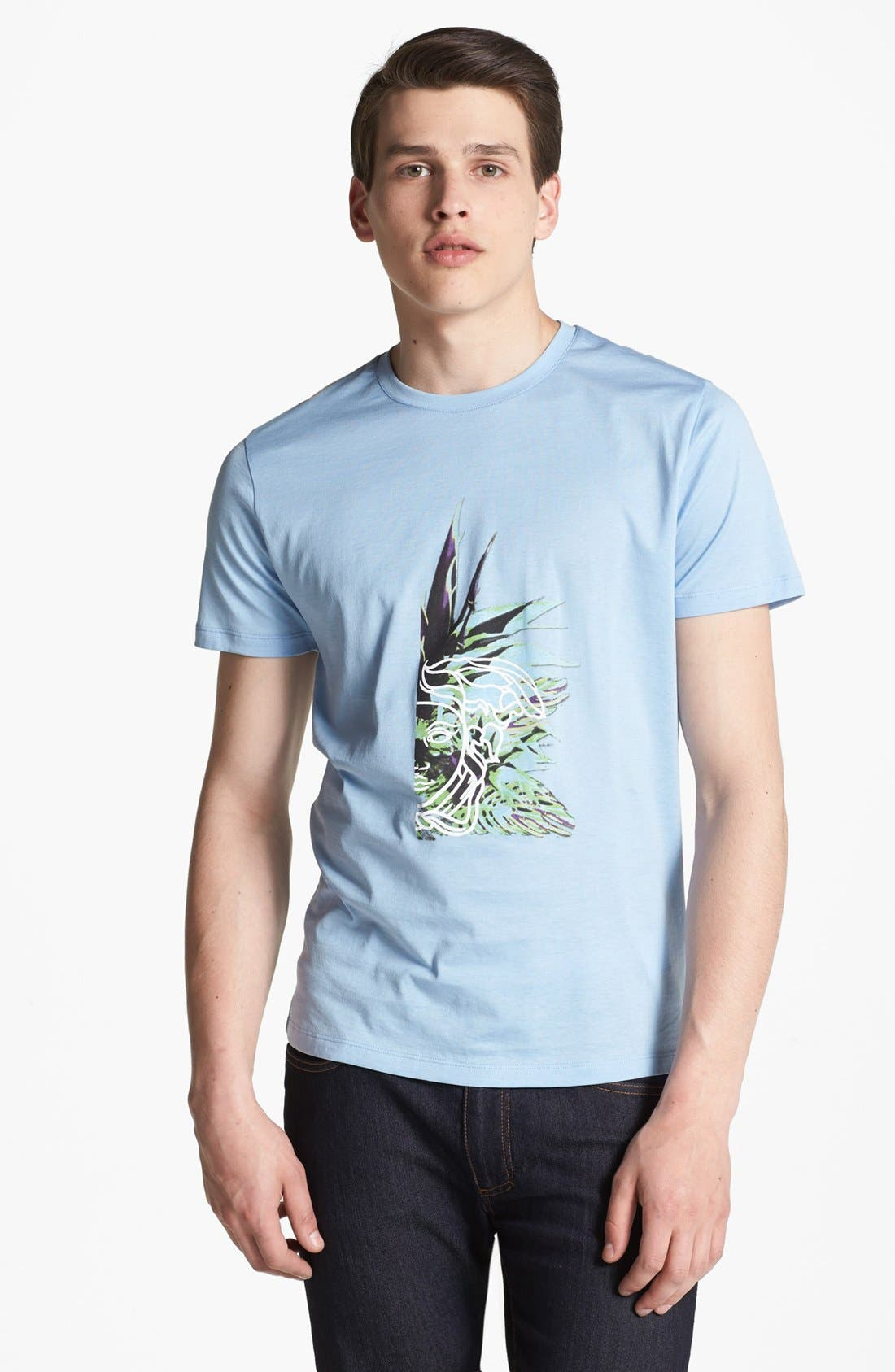 Main Image - Versace Graphic Crewneck T-Shirt