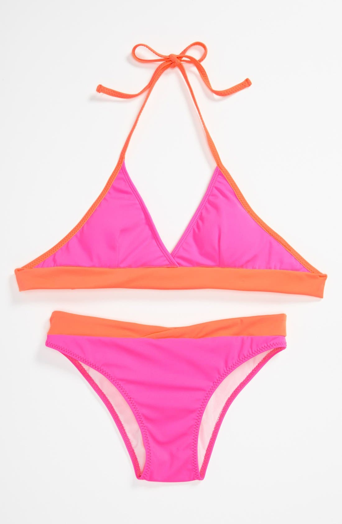 Alternate Image 1 Selected - To The 9'S Two Piece Swimsuit (Big Girls)