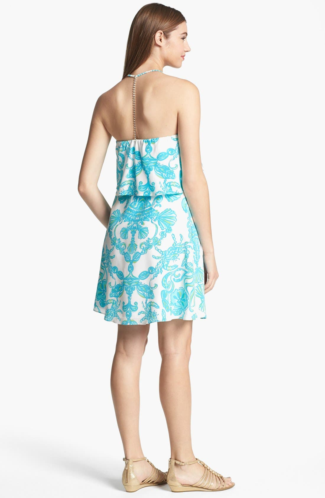 Alternate Image 2  - Lilly Pulitzer® 'Whistler' Silk Dress