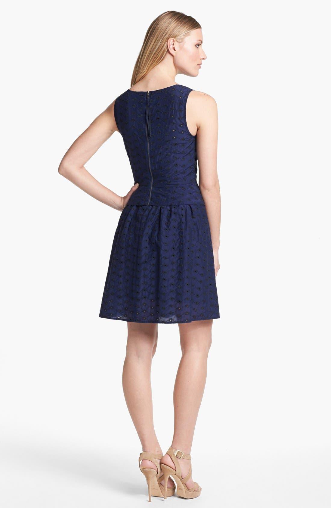 Alternate Image 2  - MARC BY MARC JACOBS 'Rosie' Cotton & Silk A-Line Dress