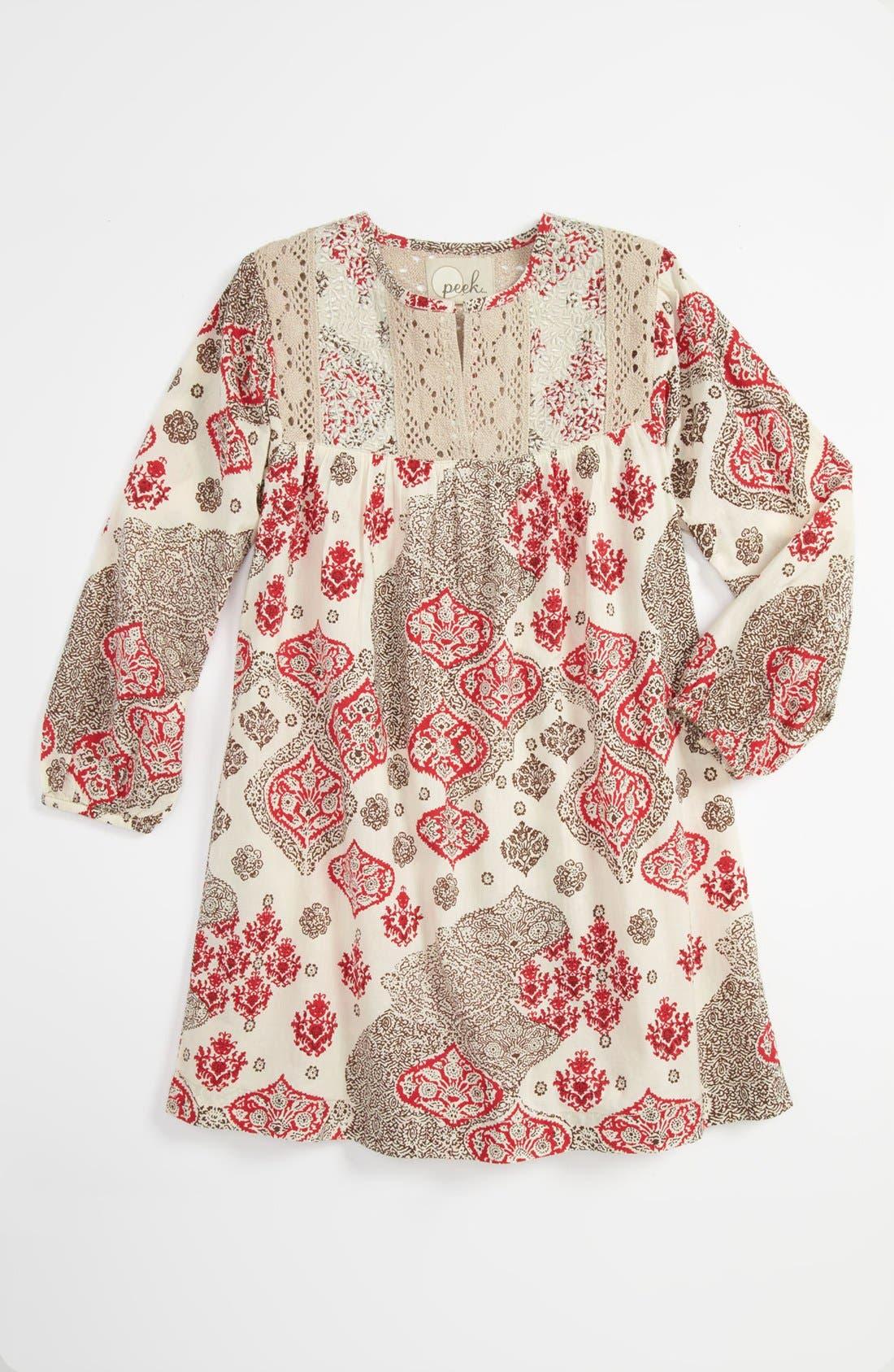 Main Image - Peek 'Lupita' Dress (Toddler & Little Girls)