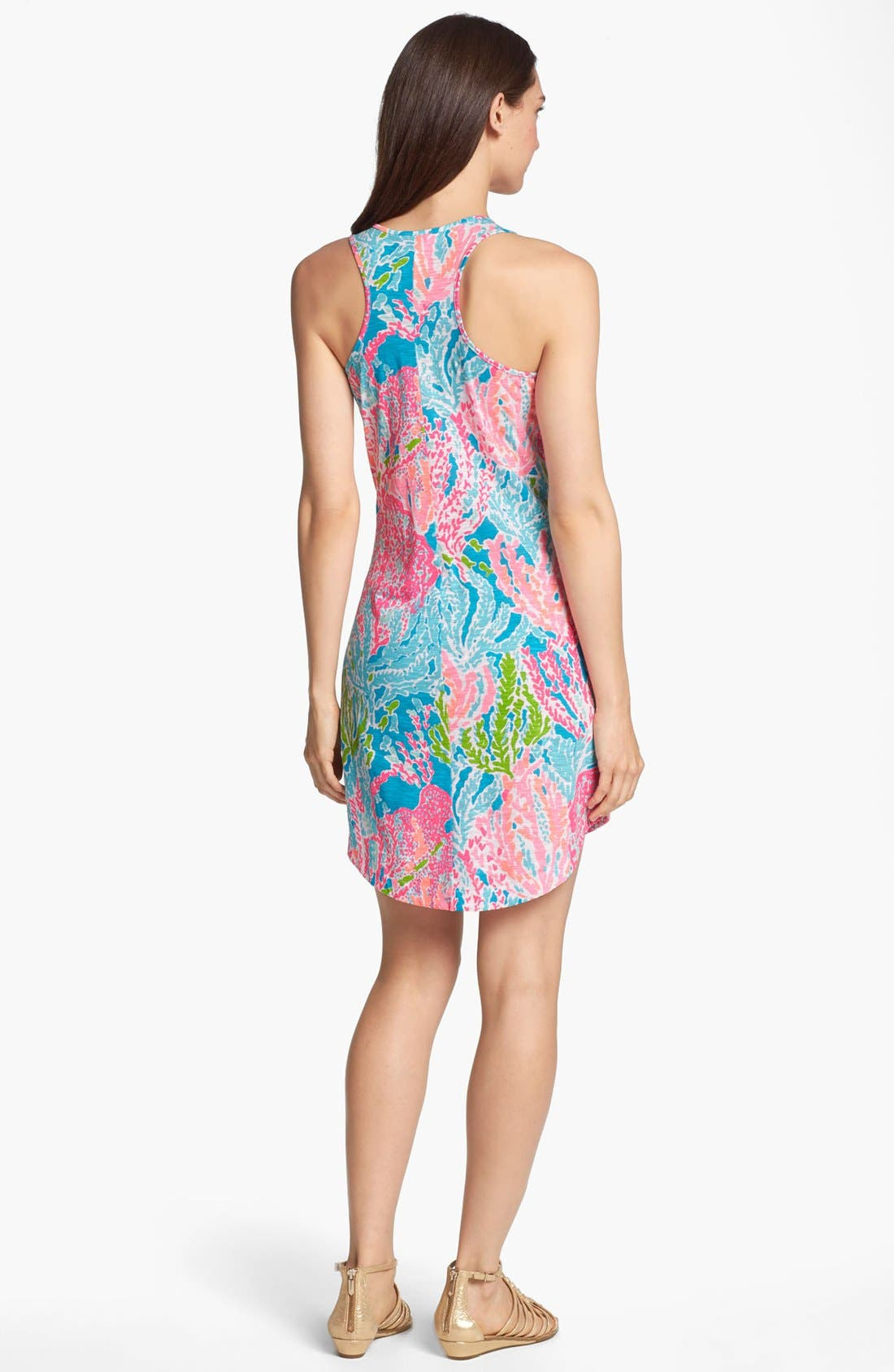 Alternate Image 2  - Lilly Pulitzer® 'Cordon' Print Racerback Tank Dress