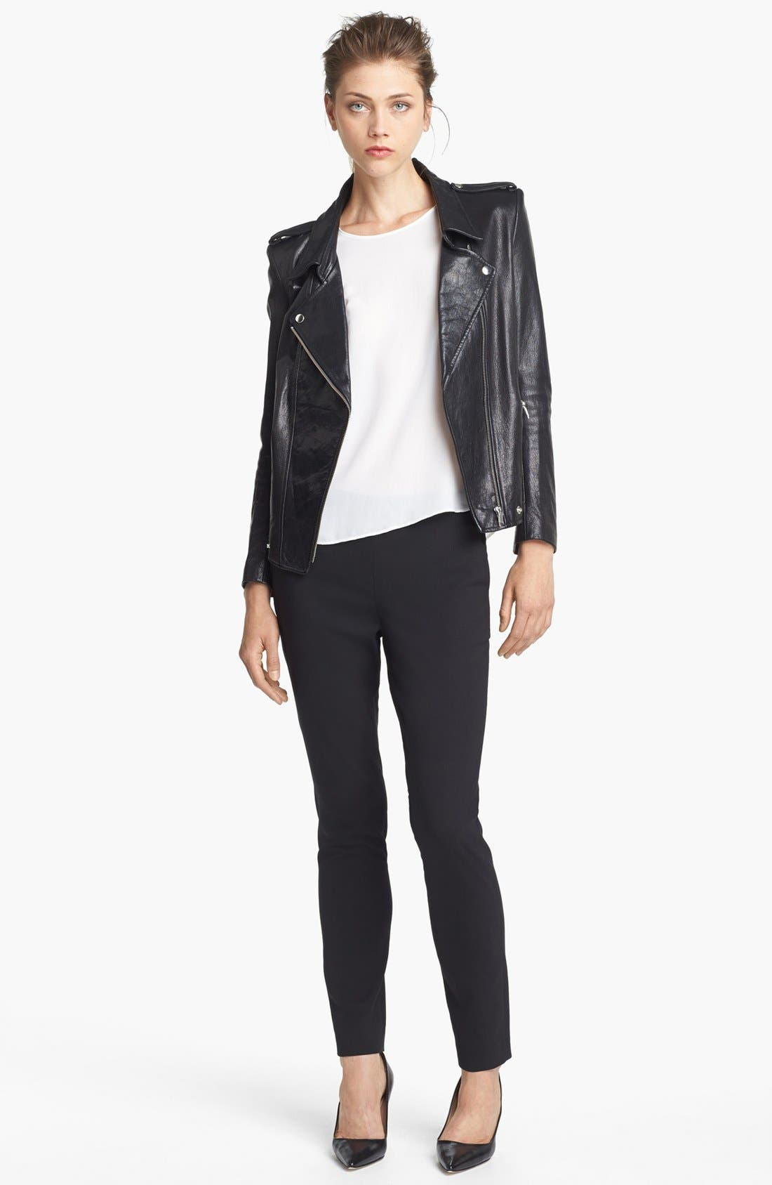 Alternate Image 2  - Theyskens' Theory 'Jiker Nomi' Leather Jacket