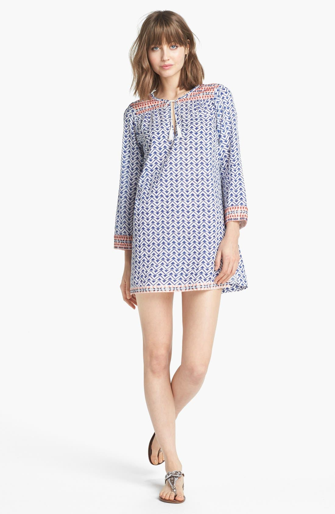 Alternate Image 1 Selected - Soft Joie 'Daria' Print Cotton Tunic