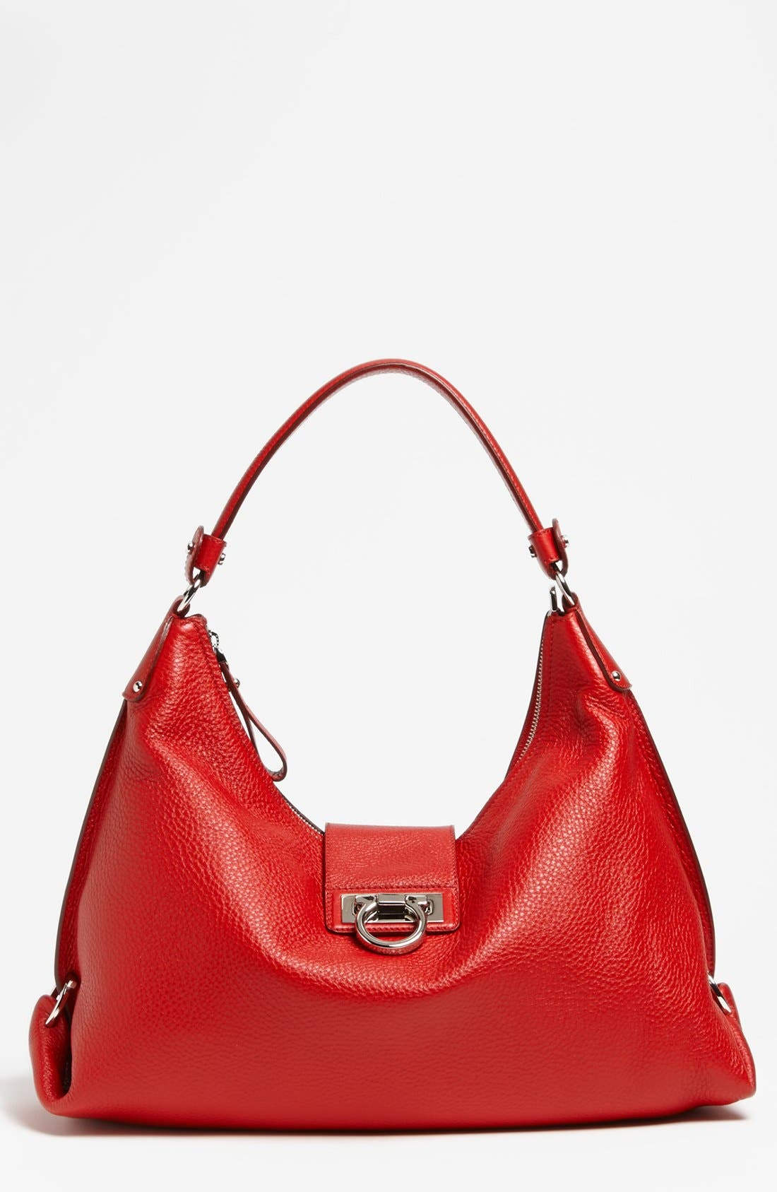 Alternate Image 1 Selected - Salvatore Ferragamo 'New Fanisa' Leather Hobo