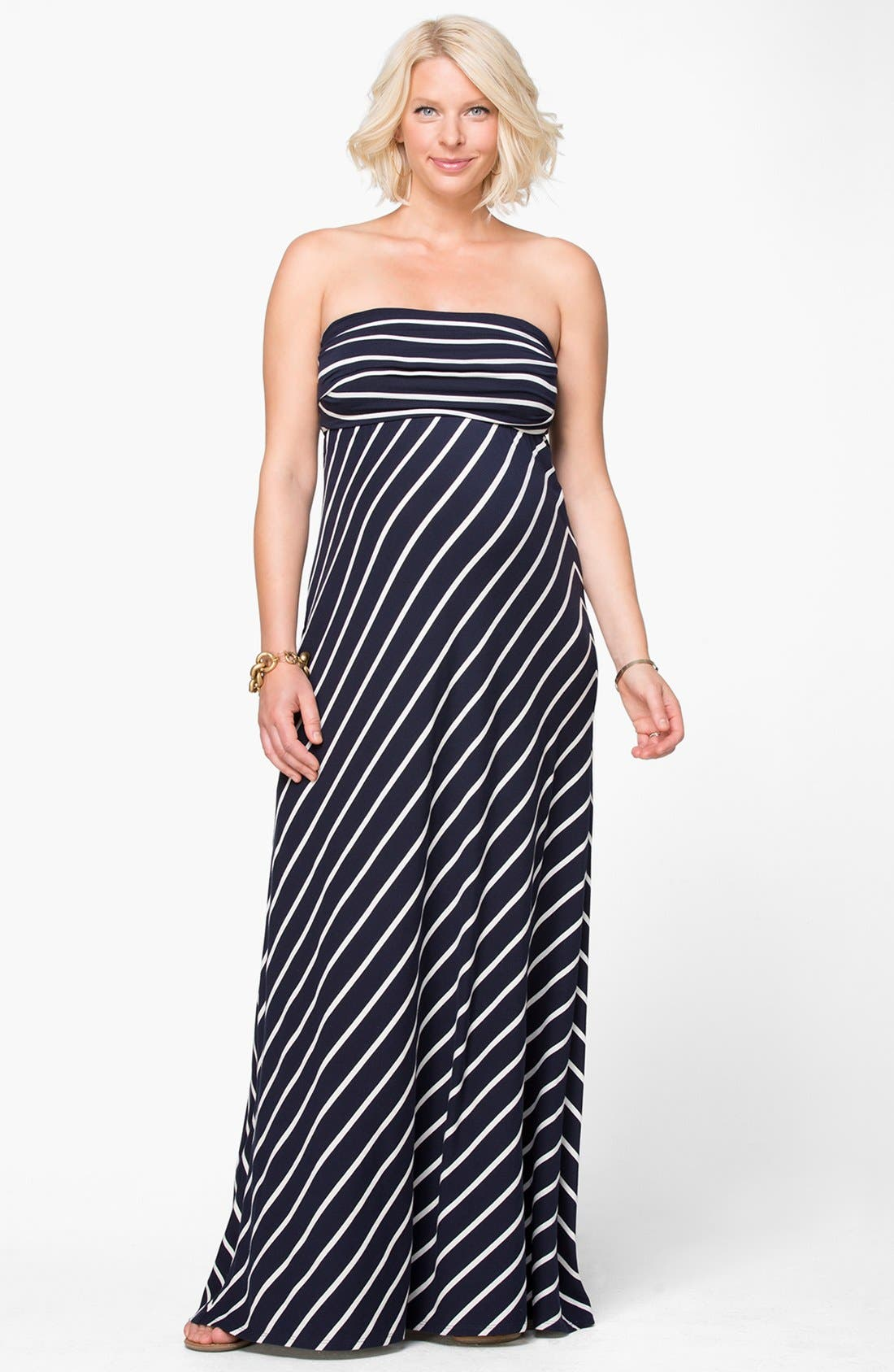 Alternate Image 4  - Ingrid & Isabel® Convertible Maternity Maxi Dress