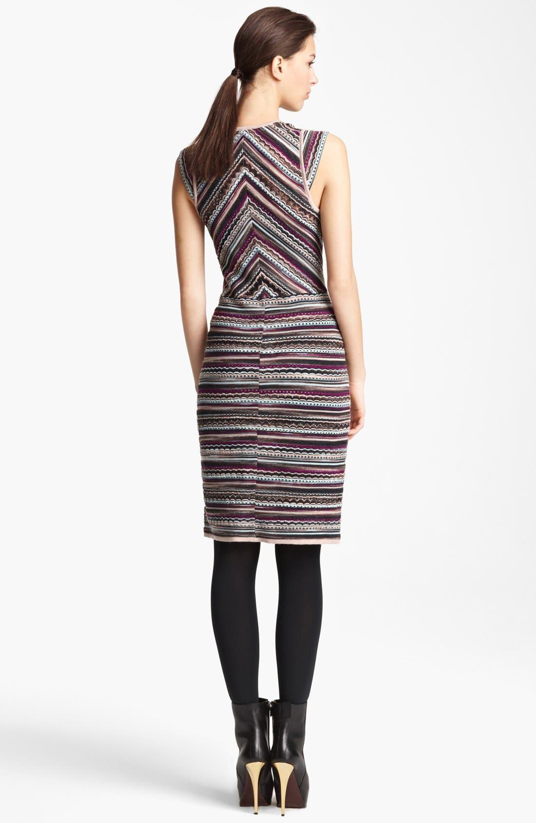 Alternate Image 2  - Missoni V-Neck Knit Dress