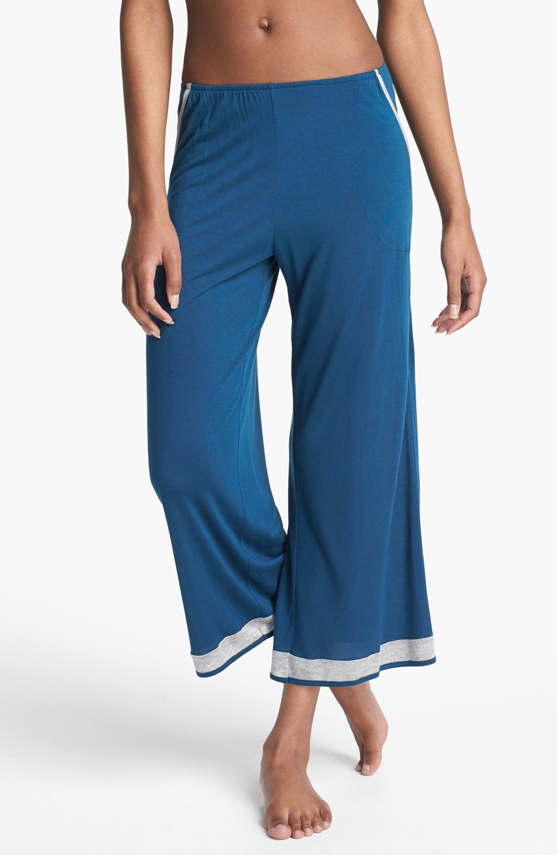 Alternate Image 1 Selected - Only Hearts 'Venice Beach' Crop Lounge Pants