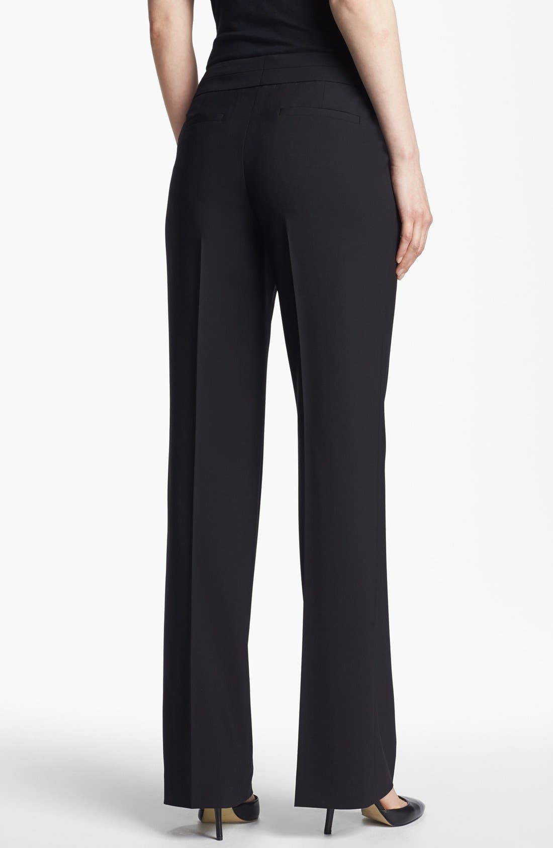 Alternate Image 2  - Classiques Entier® Stretch Wool Trousers