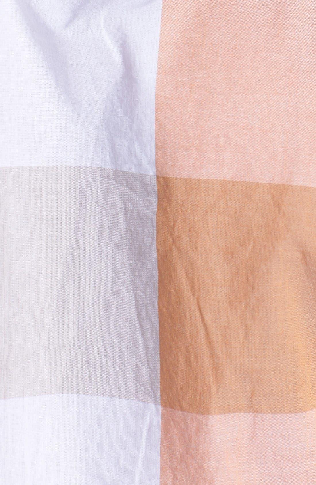 Alternate Image 2  - BOSS Orange 'Cliffi' Short Sleeve Check Shirt