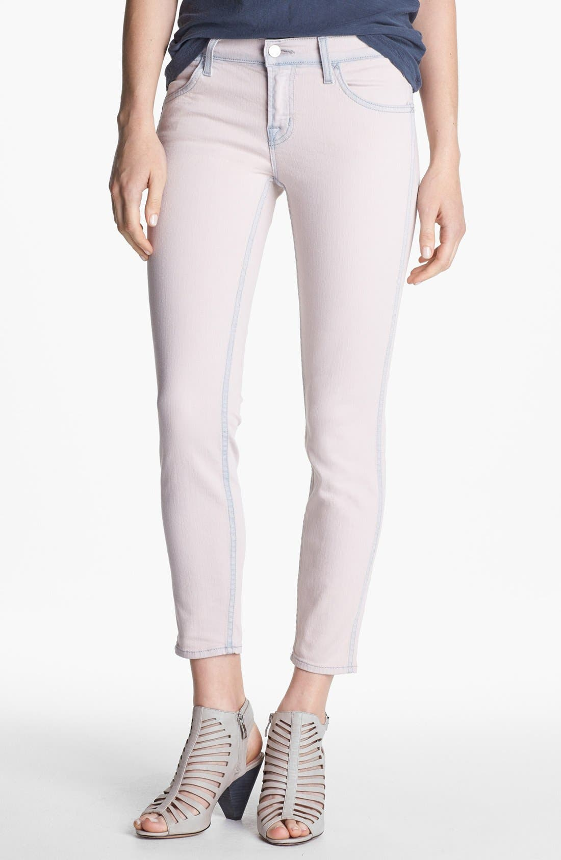 Alternate Image 1 Selected - J Brand 'Allegra' Ankle Skinny Jeans (Nirvana Magnolia)