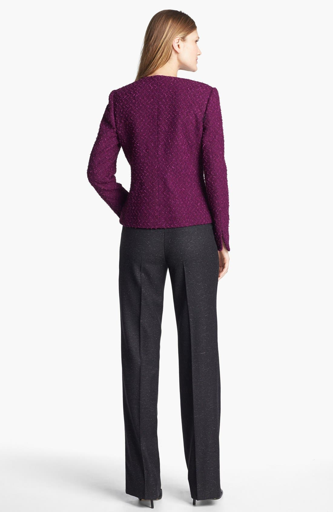 Alternate Image 3  - Santorelli 'Mara' Tweed Trousers