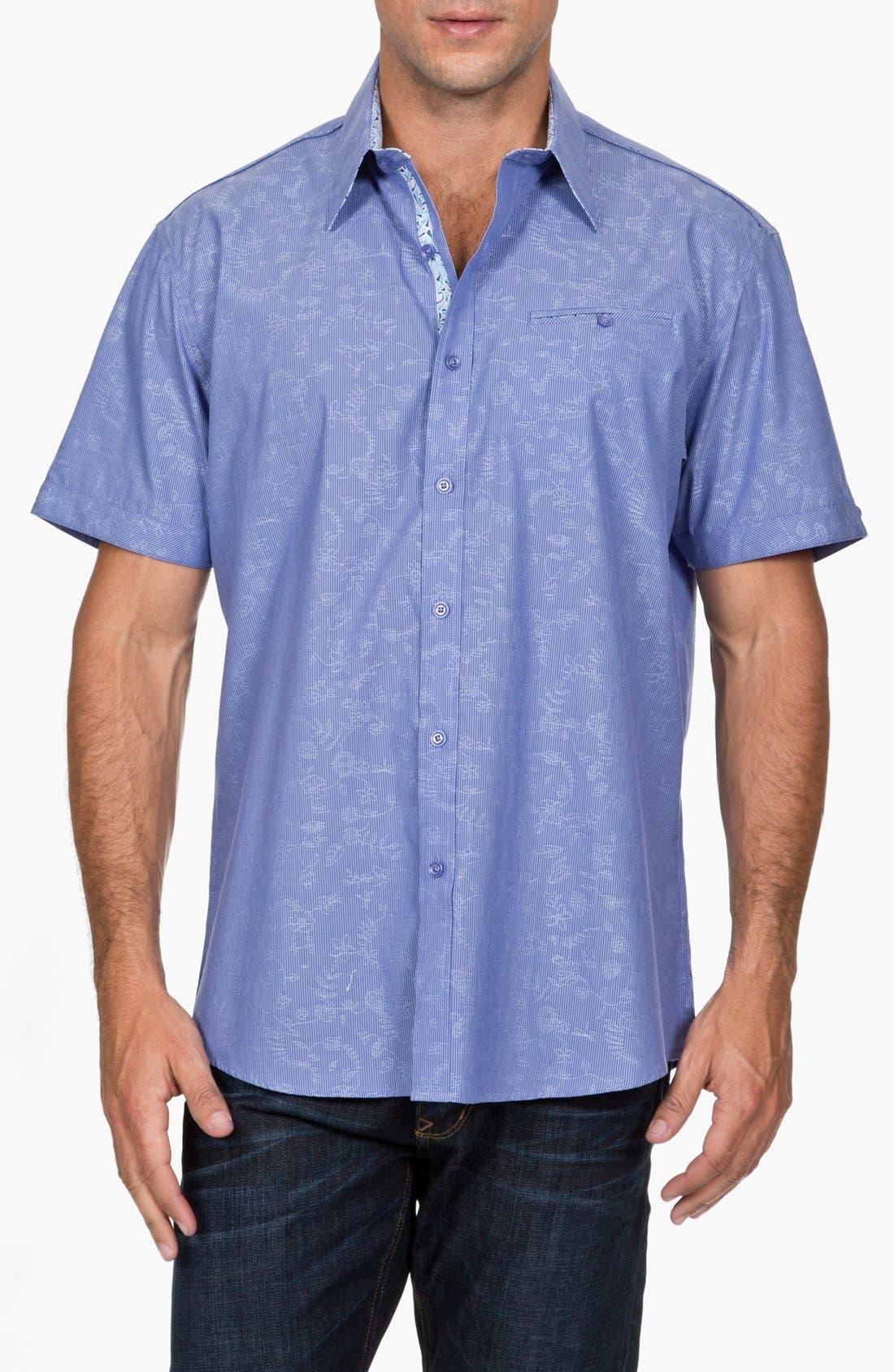 Alternate Image 1 Selected - Zagiri Regular Fit Short Sleeve Sport Shirt