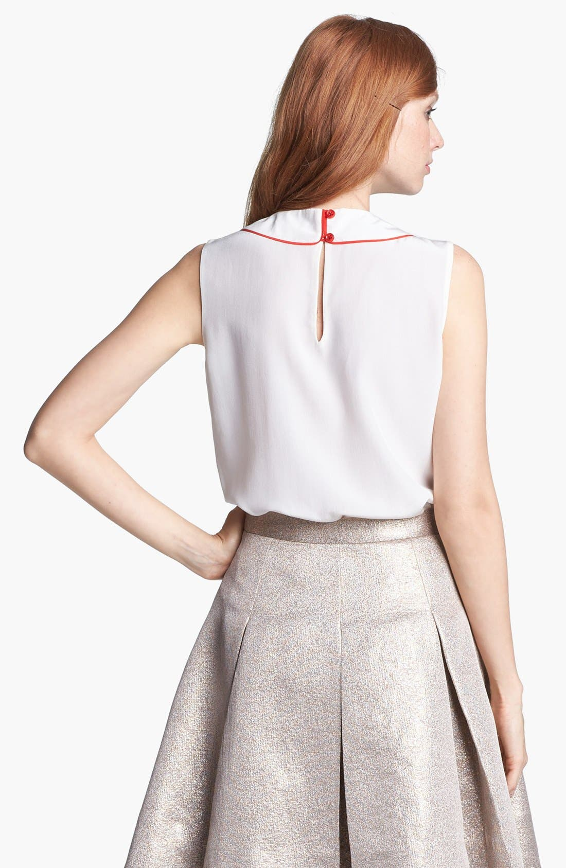 Alternate Image 2  - kate spade new york 'beatrix' silk top