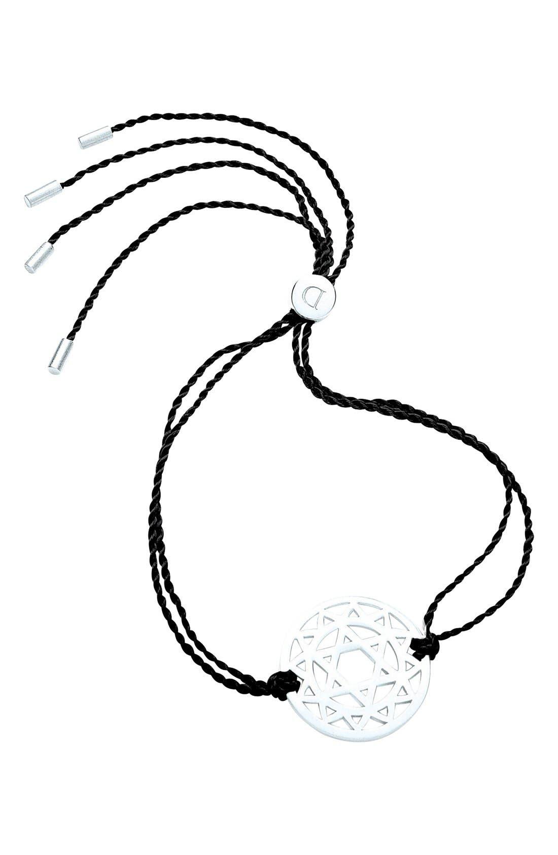 Main Image - Daisy London 'Heart Chakra' Cord Bracelet