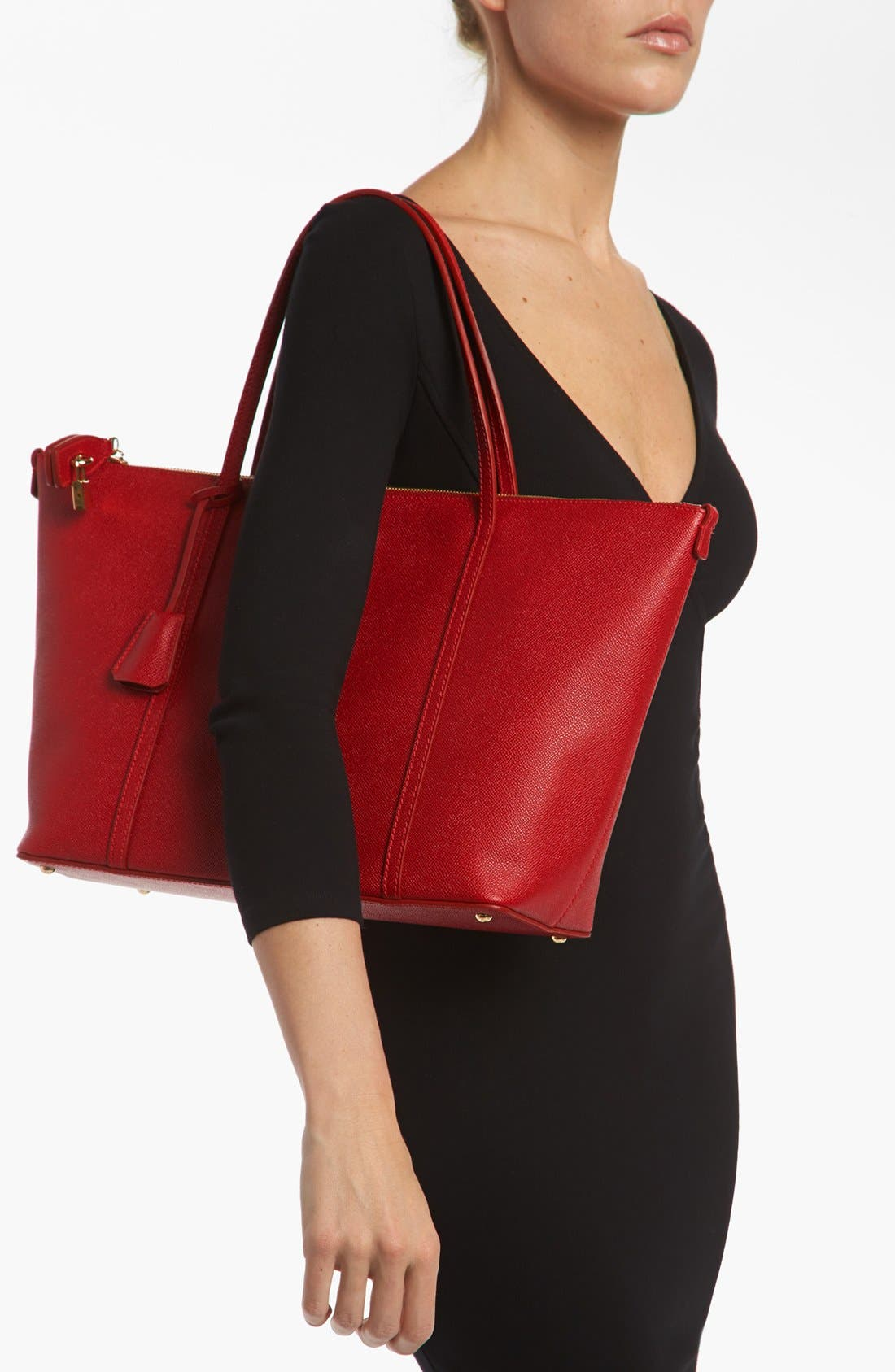 Alternate Image 2  - Dolce&Gabbana 'Miss Escape - Classic' Leather Tote