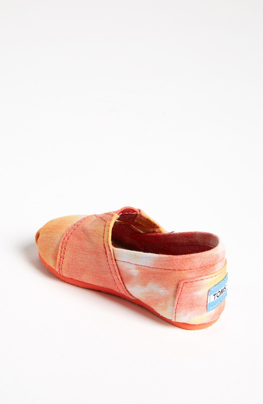 Alternate Image 2  - TOMS 'Classic Tiny - Tie Dye' Slip-On (Baby, Walker & Toddler) (Nordstrom Exclusive)