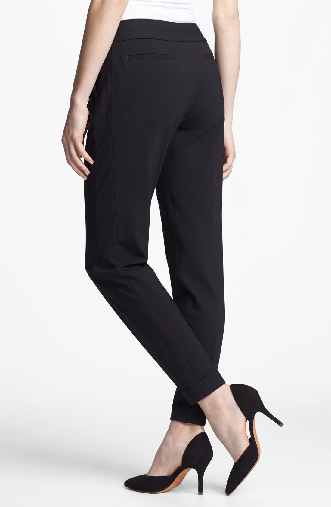 Alternate Image 2  - Ted Baker London 'Stab Stitch' Stretch Tapered Trousers