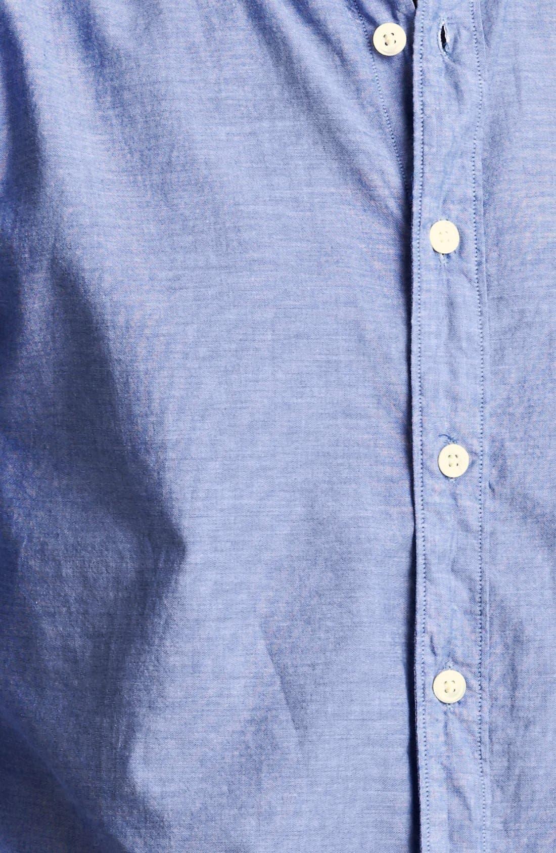 Alternate Image 3  - Todd Snyder Chambray Sport Shirt