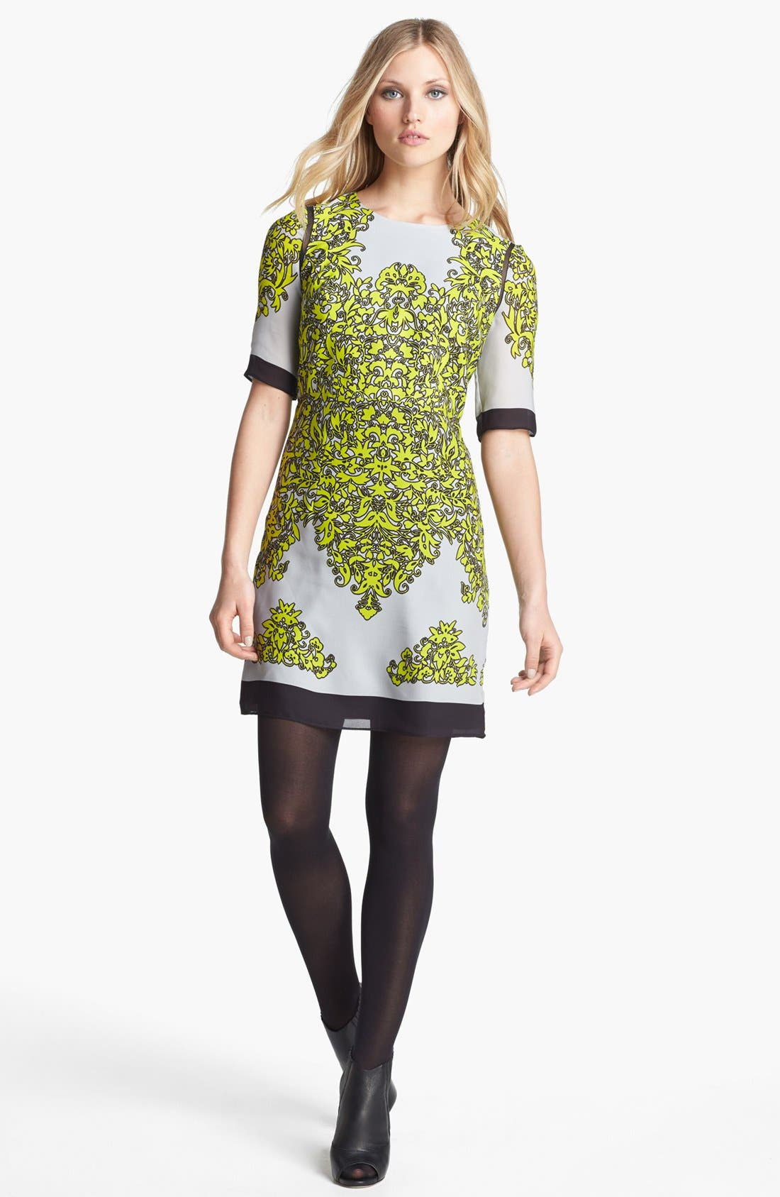 Alternate Image 1 Selected - Milly 'Blaire' Silk Sheath Dress