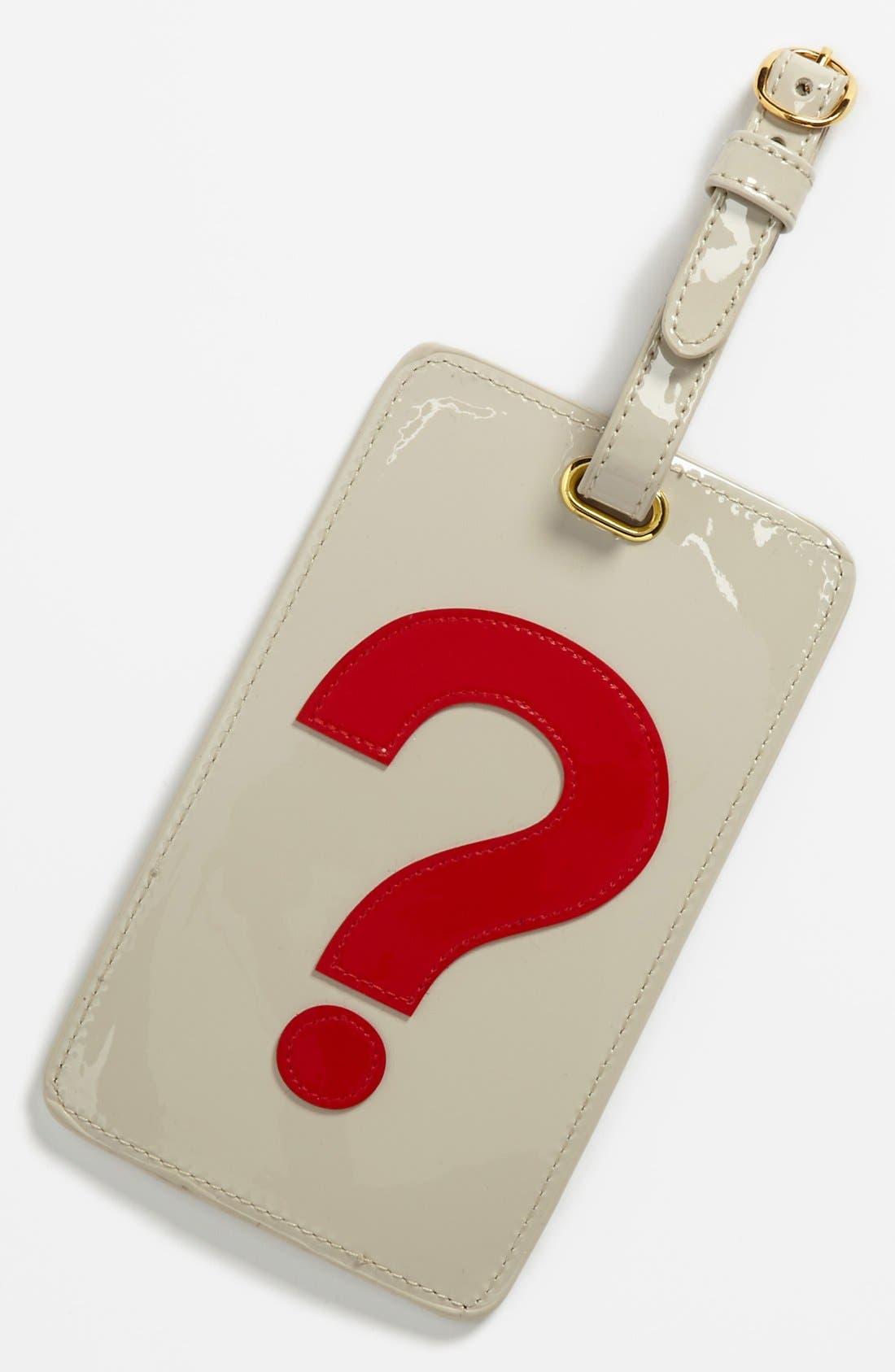 Main Image - Lolo 'Question Mark' Luggage Tag