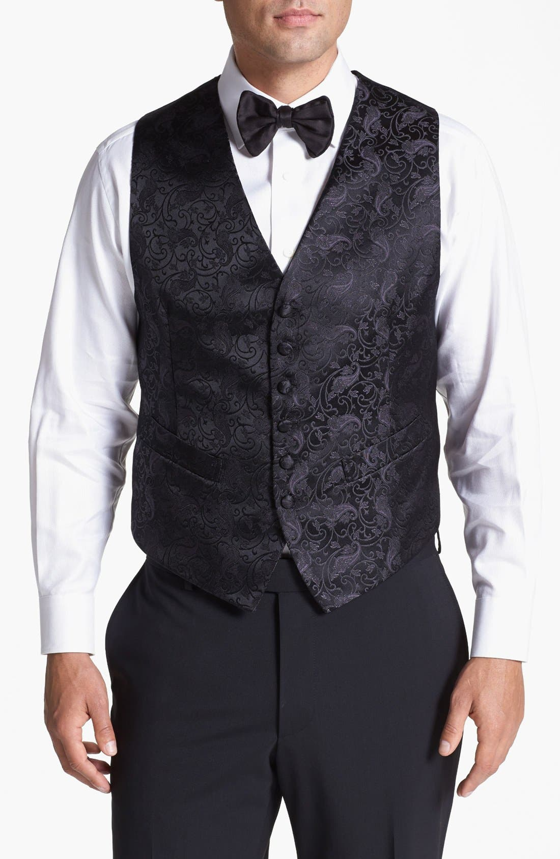 Alternate Image 1 Selected - David Donahue Paisley Vest