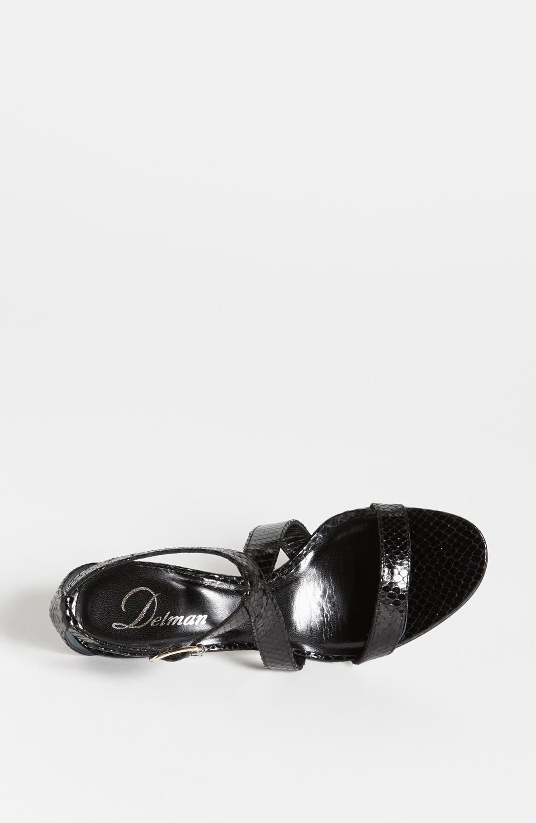 Alternate Image 3  - Delman 'Tori' Sandal (Online Only)