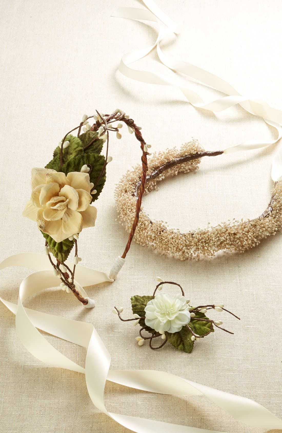 Alternate Image 4  - Whichgoose Baby's Breath Crown