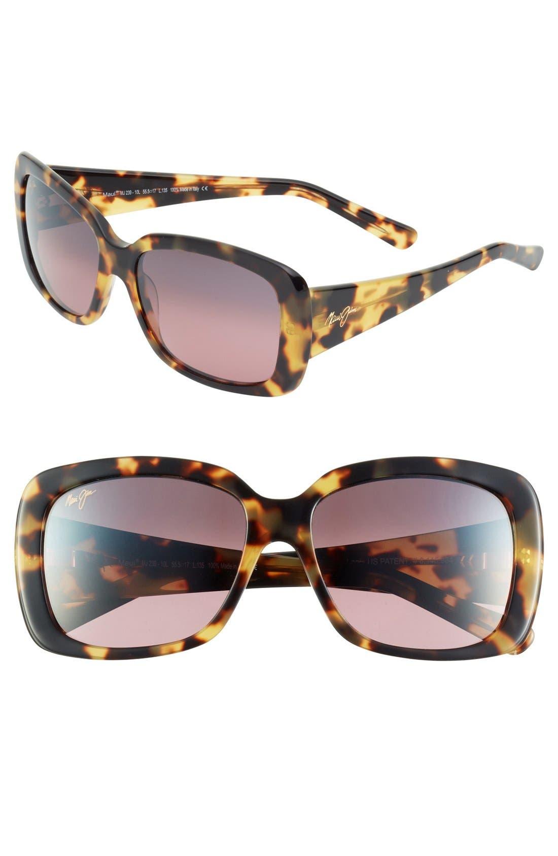 Main Image - Maui Jim 'Lilikoi' 56mm Sunglasses