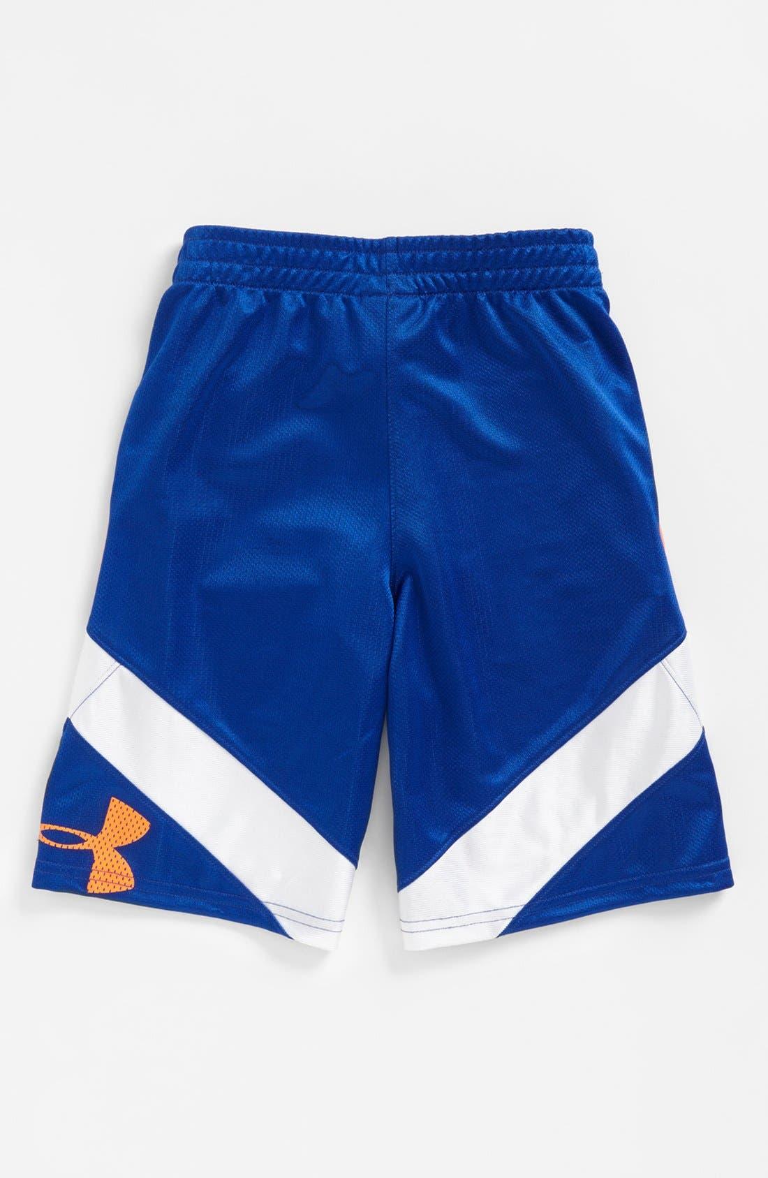 Alternate Image 2  - Under Armour 'Jhawk' Shorts (Little Boys)