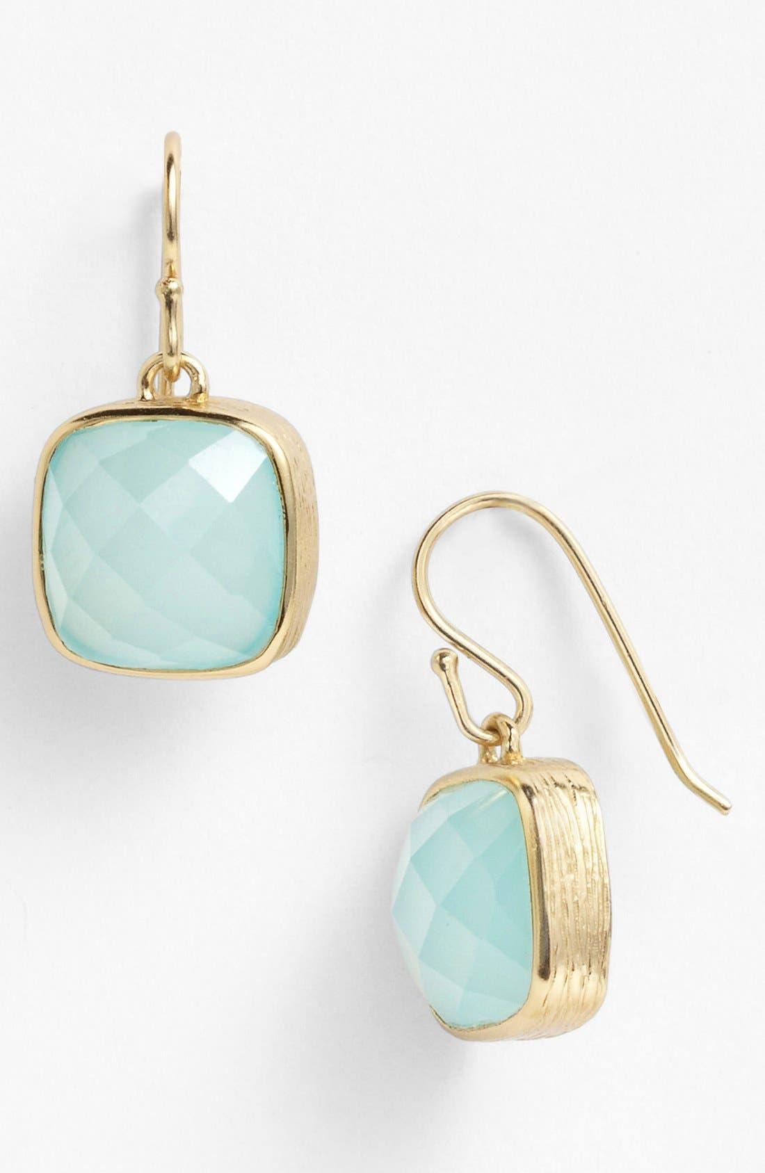 Alternate Image 1 Selected - Melinda Maria 'Simple Stone - Nerissa' Drop Earrings