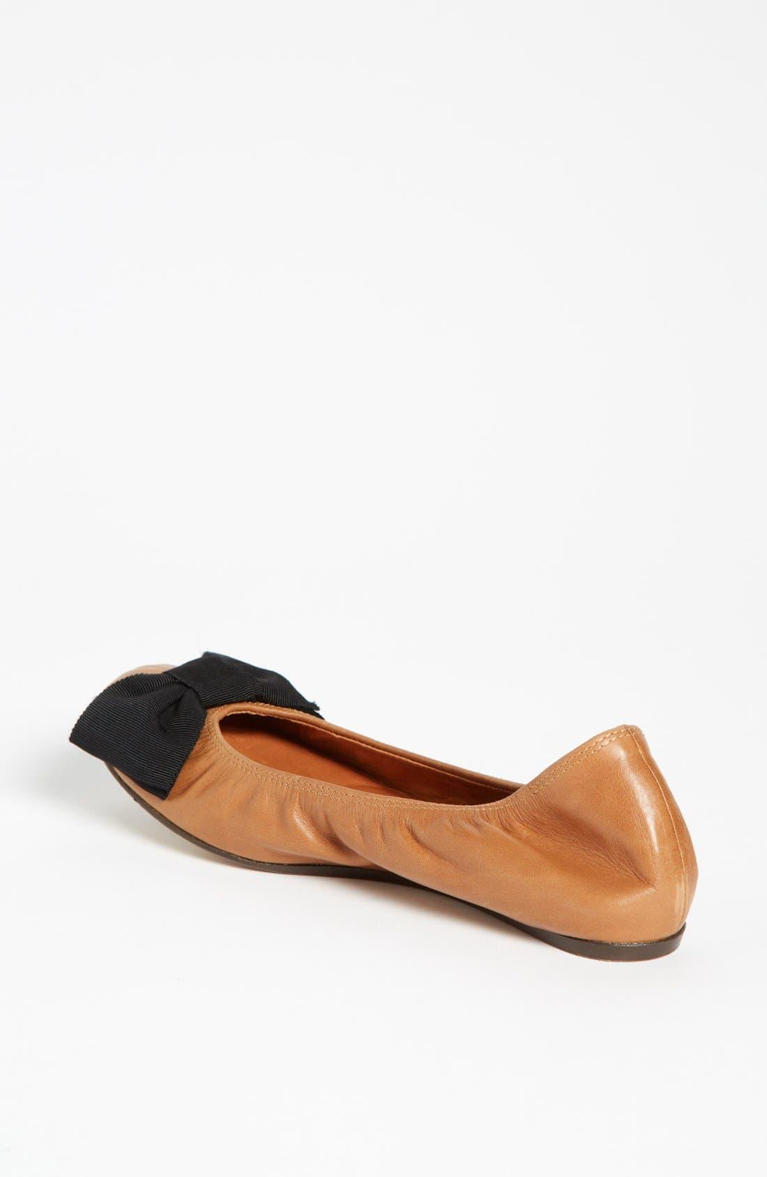 Alternate Image 2  - Lanvin Bow Detail Ballet Flat