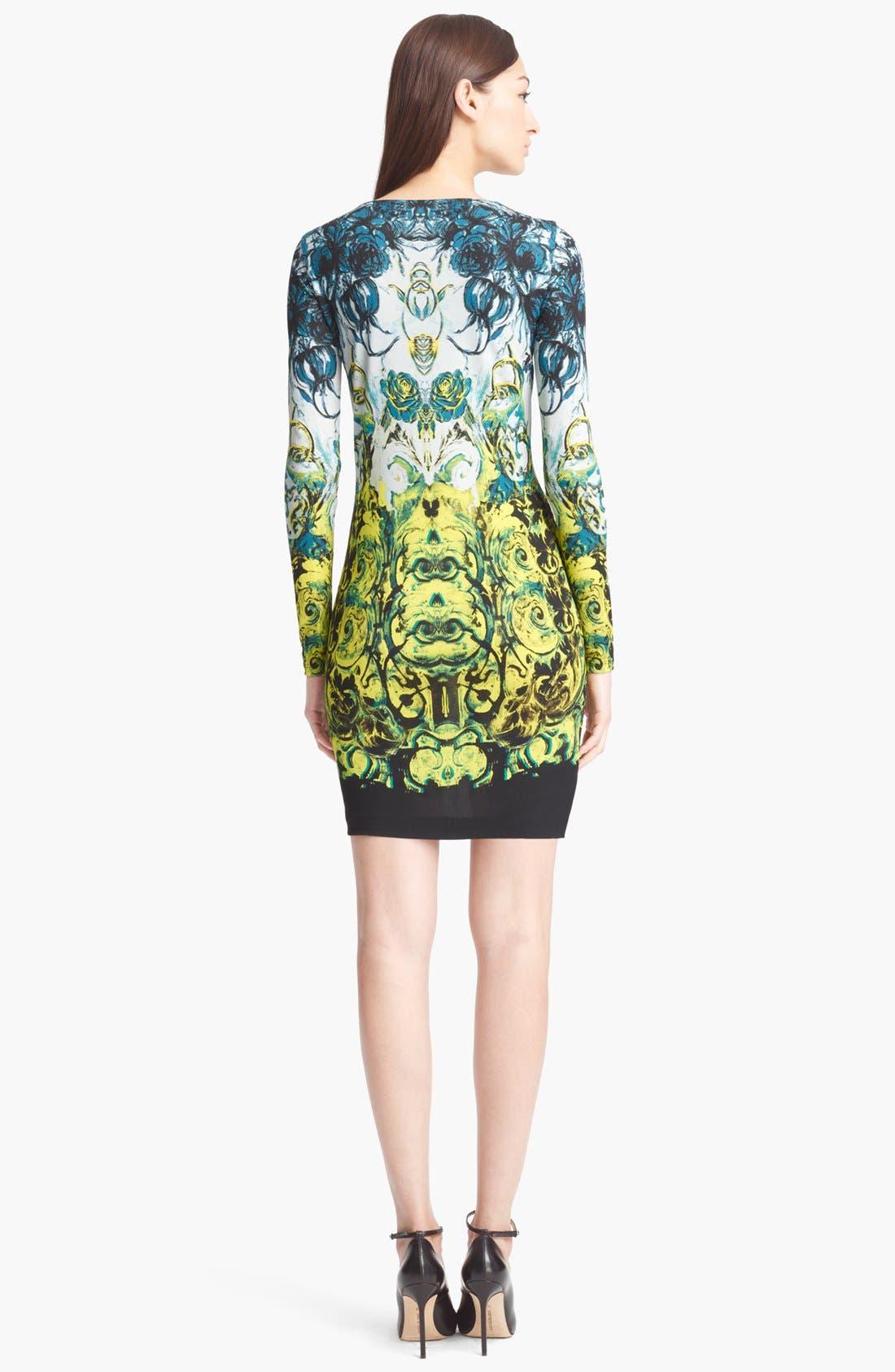 Alternate Image 2  - Roberto Cavalli 'Novella Print' Jersey Dress