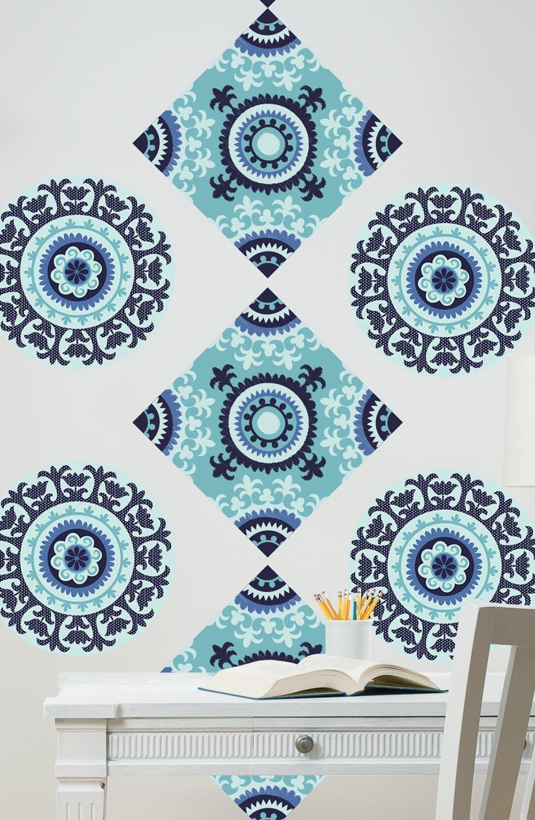 Alternate Image 1 Selected - Wallpops 'Malaya Dots & Blox' Wall Art
