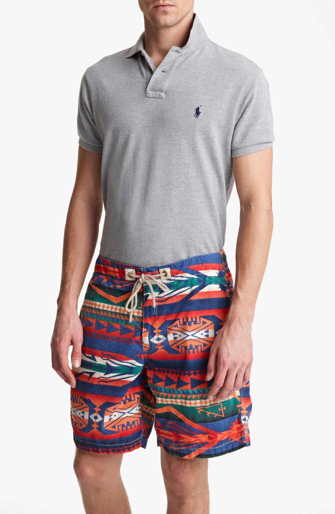 Alternate Image 2  - Polo Ralph Lauren 'Pacific' Swim Trunks