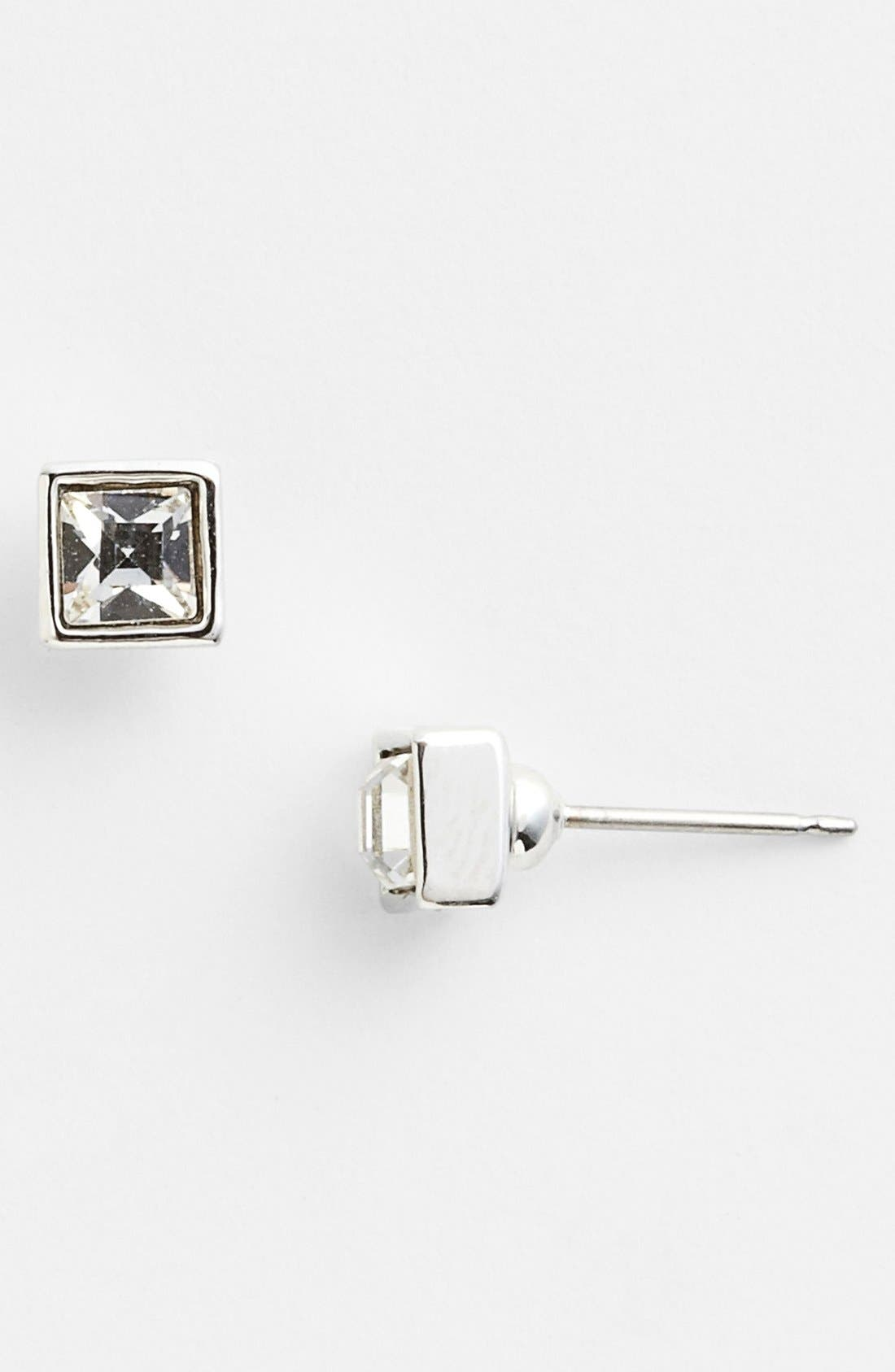 Alternate Image 1 Selected - Givenchy Square Stud Earrings