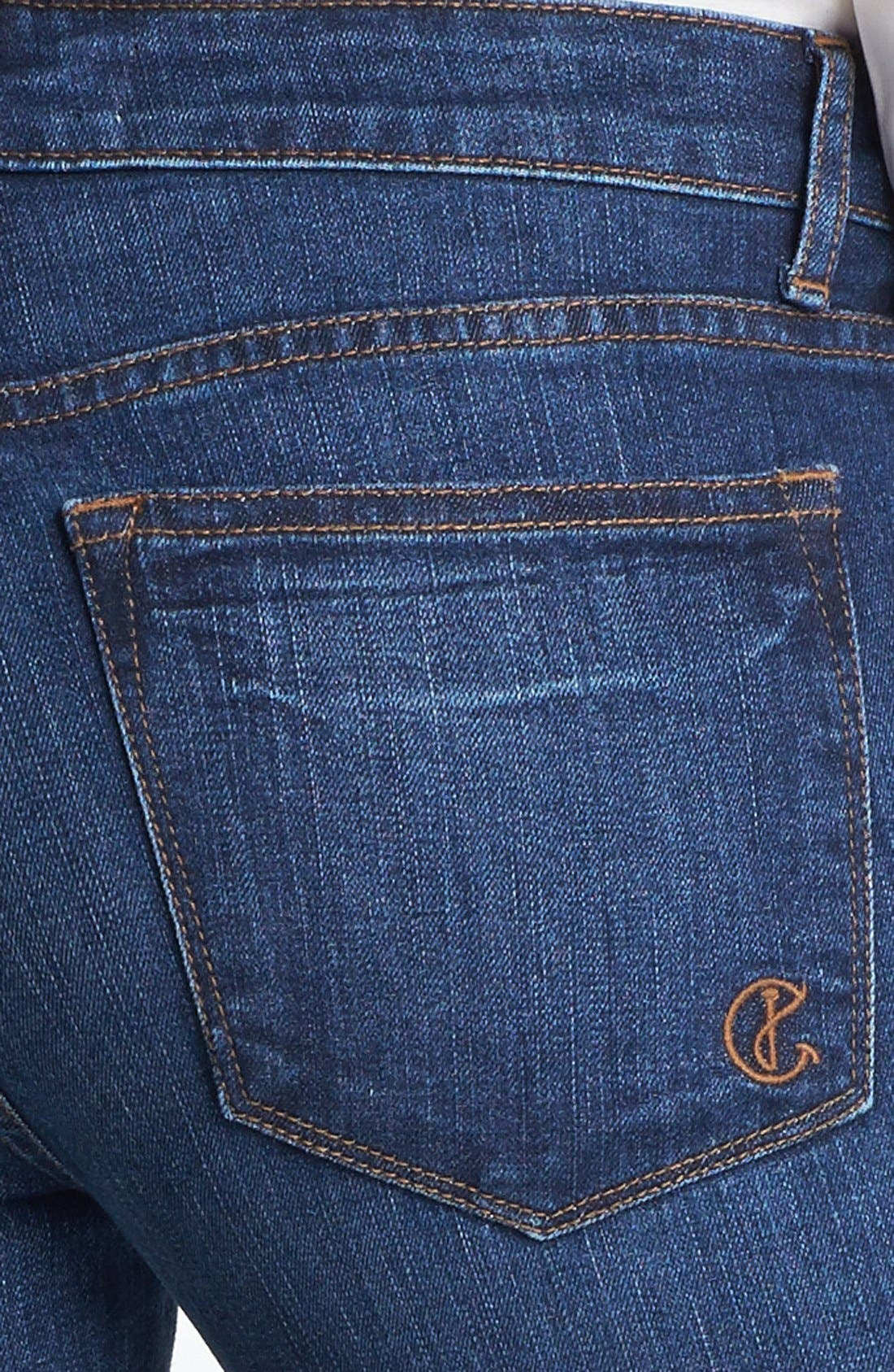 Alternate Image 3  - CJ by Cookie Johnson 'Believe' Embellished Crop Stretch Jeans
