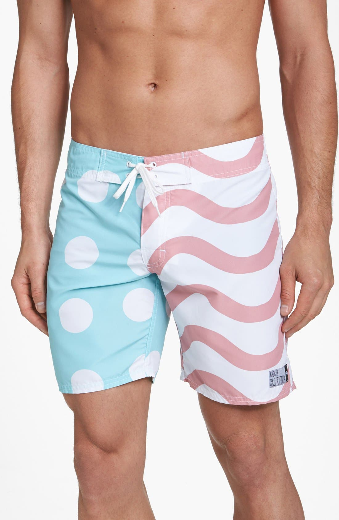 Alternate Image 1 Selected - ambsn 'Flagged' Board Shorts