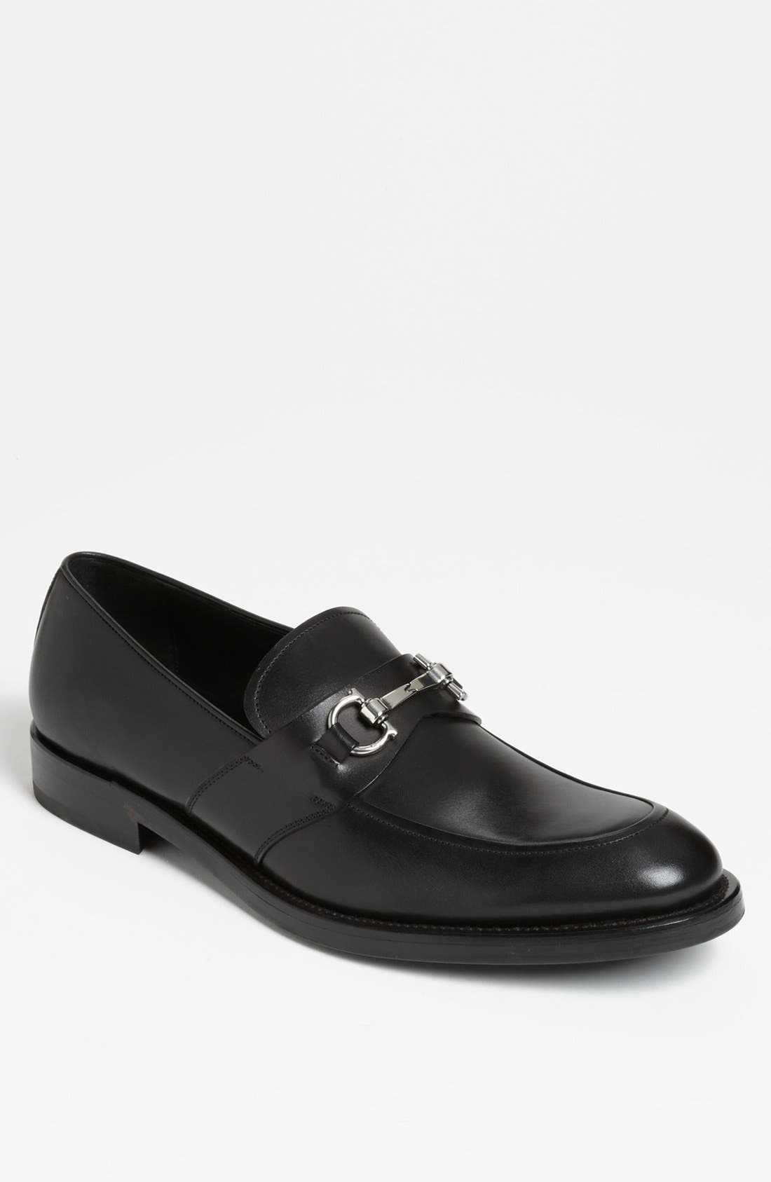 Alternate Image 1 Selected - Salvatore Ferragamo 'Siracusa' Bit Loafer