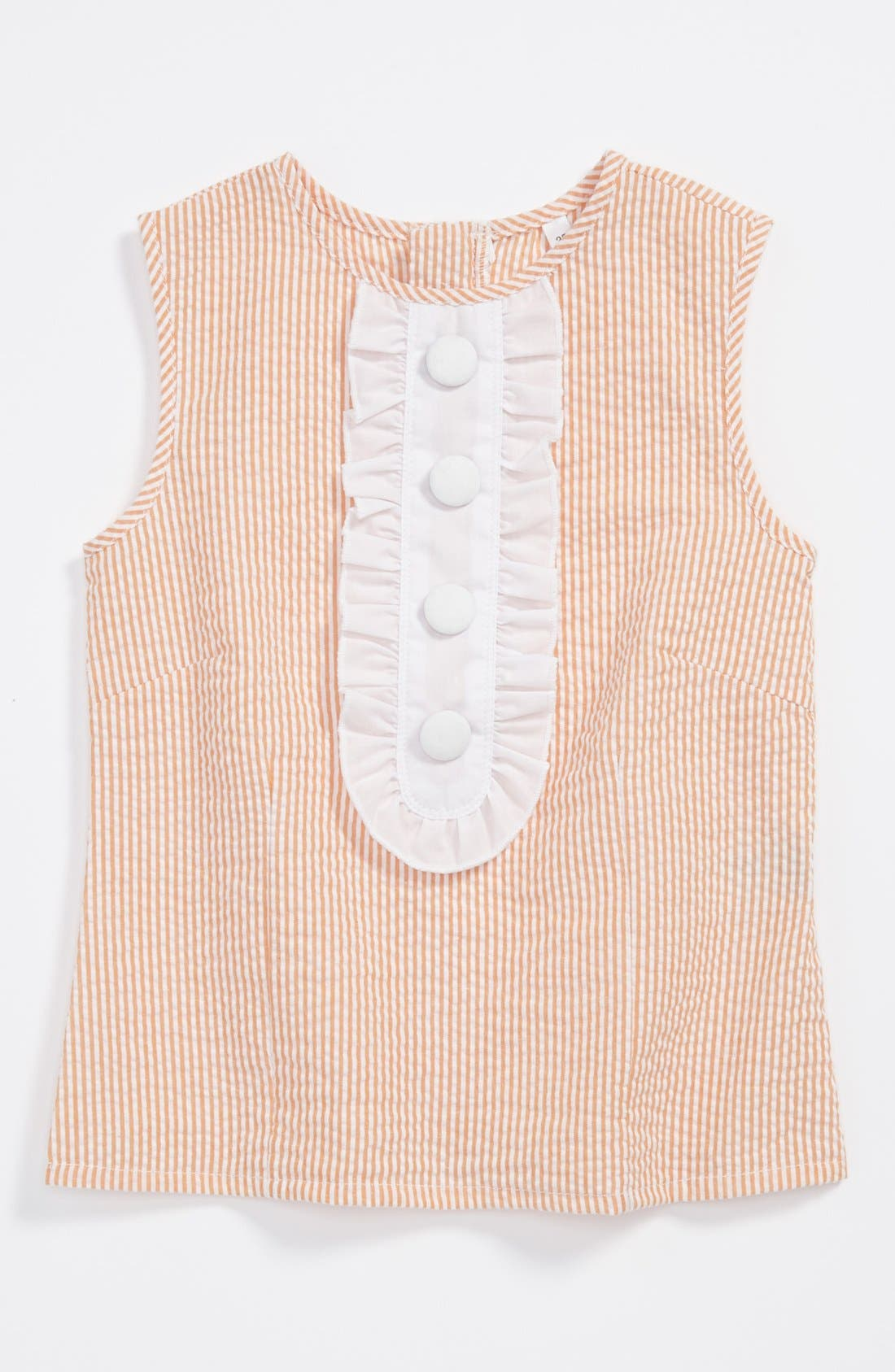 Alternate Image 1 Selected - gingham by Sovereign Code 'Mandy' Top (Toddler Girls)