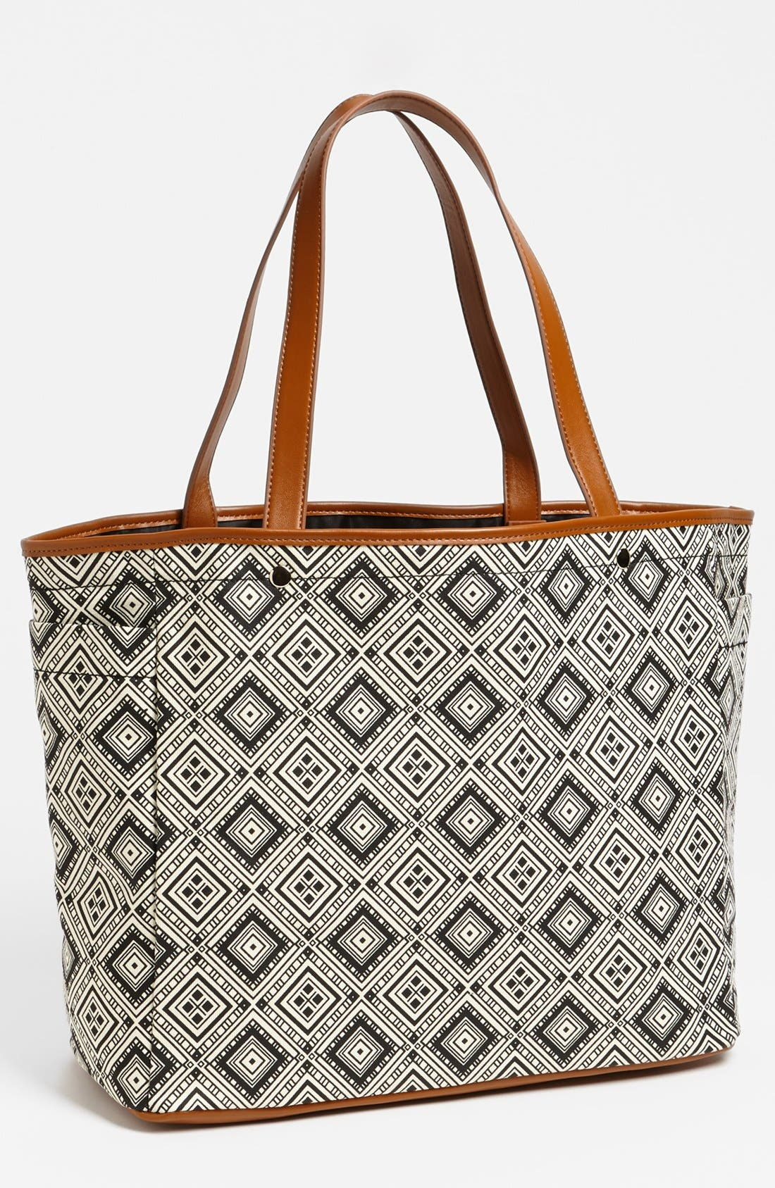 Alternate Image 1 Selected - Tarnish Graphic Canvas Tote