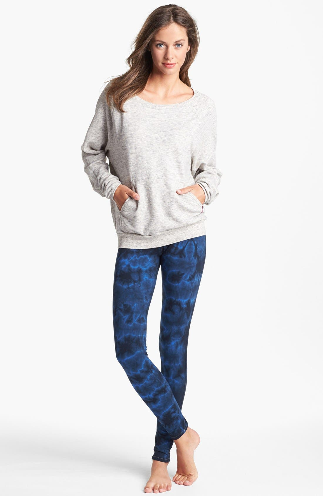 Alternate Image 3  - Hard Tail Raglan Sleeve Sweatshirt (Online Only)