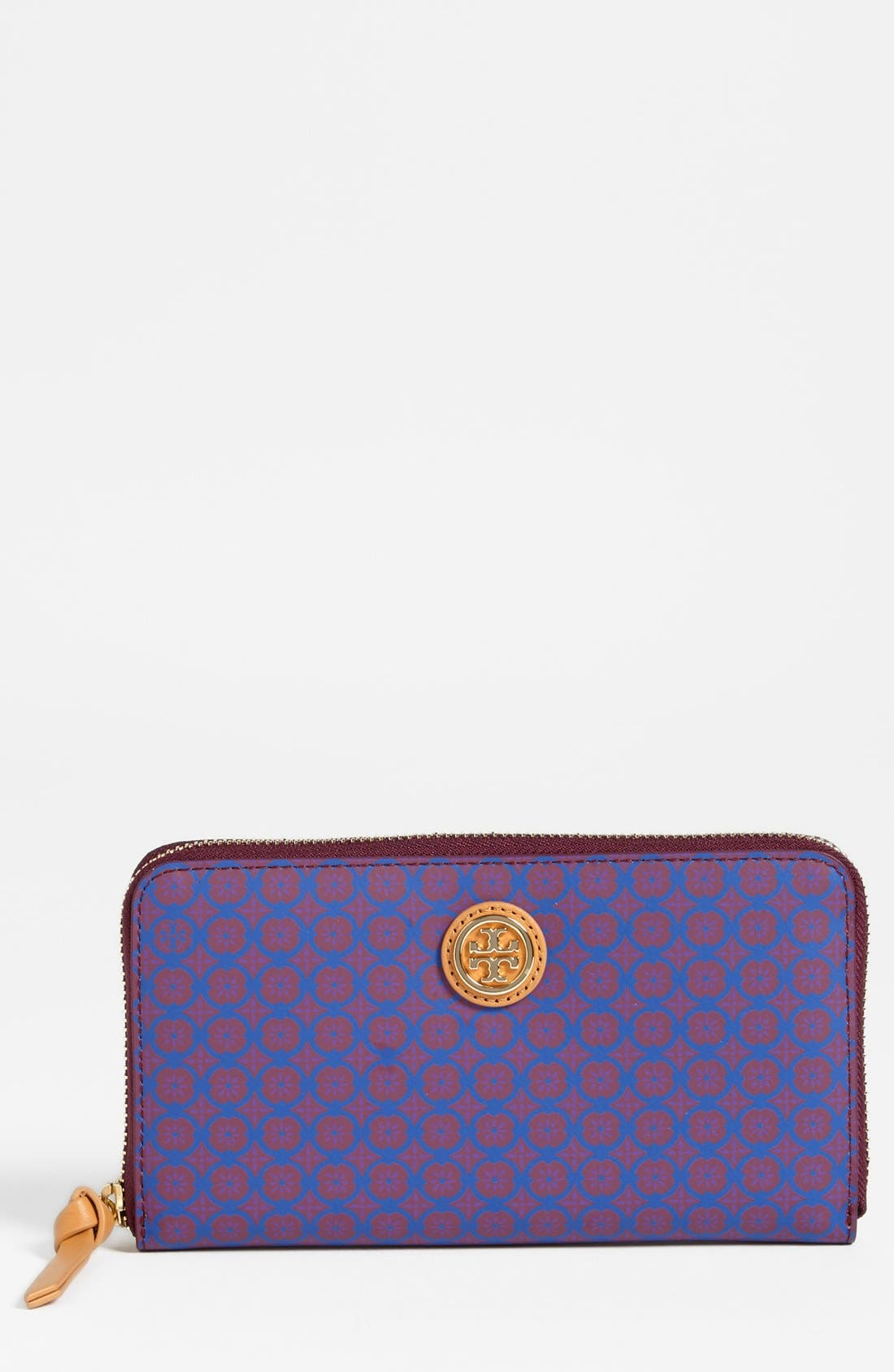 Alternate Image 1 Selected - Tory Burch 'Halland' Continental Wallet