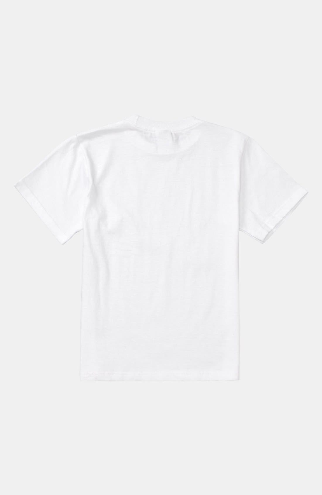 Alternate Image 2  - Quiksilver Logo Screenprint T-Shirt (Toddler Boys)