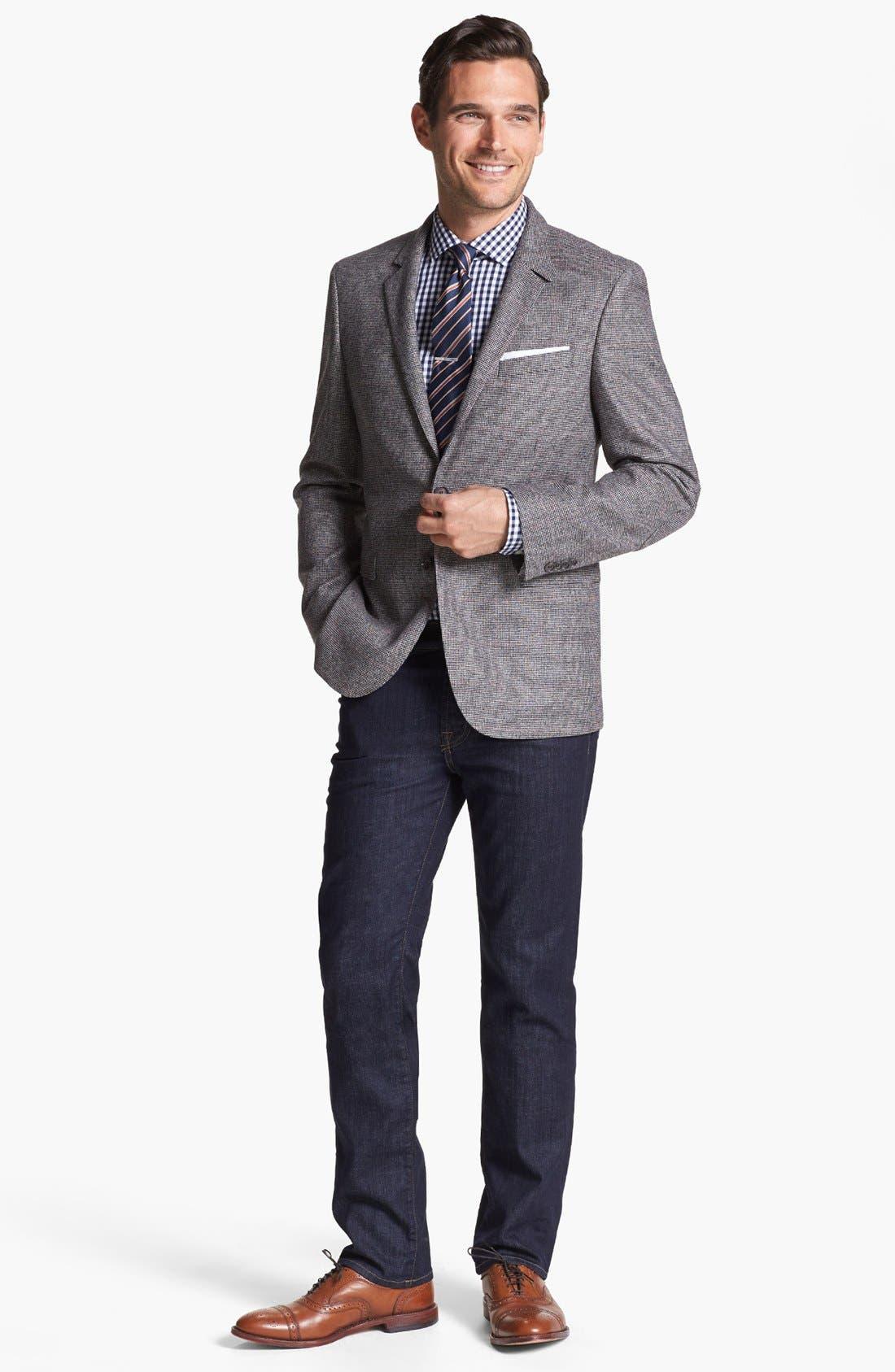 Alternate Image 4  - BOSS HUGO BOSS 'Rhett' Extra Trim Fit Sportcoat