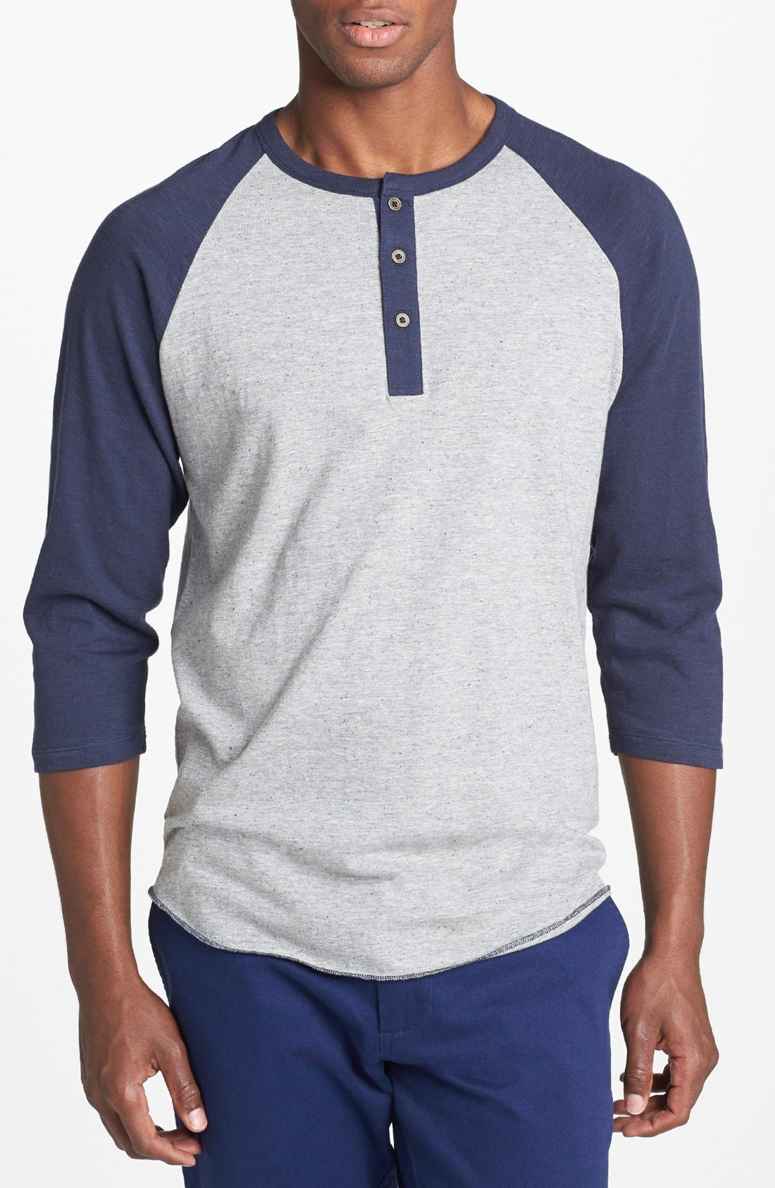 Enjoy all-day comfort with a professional twist in custom Henley shirts. These styles are made for work, play and everything in between. Men's and ladies' shirts from top workwear and team jersey brands can be customized with your company logo, team name or any of our free design templates.