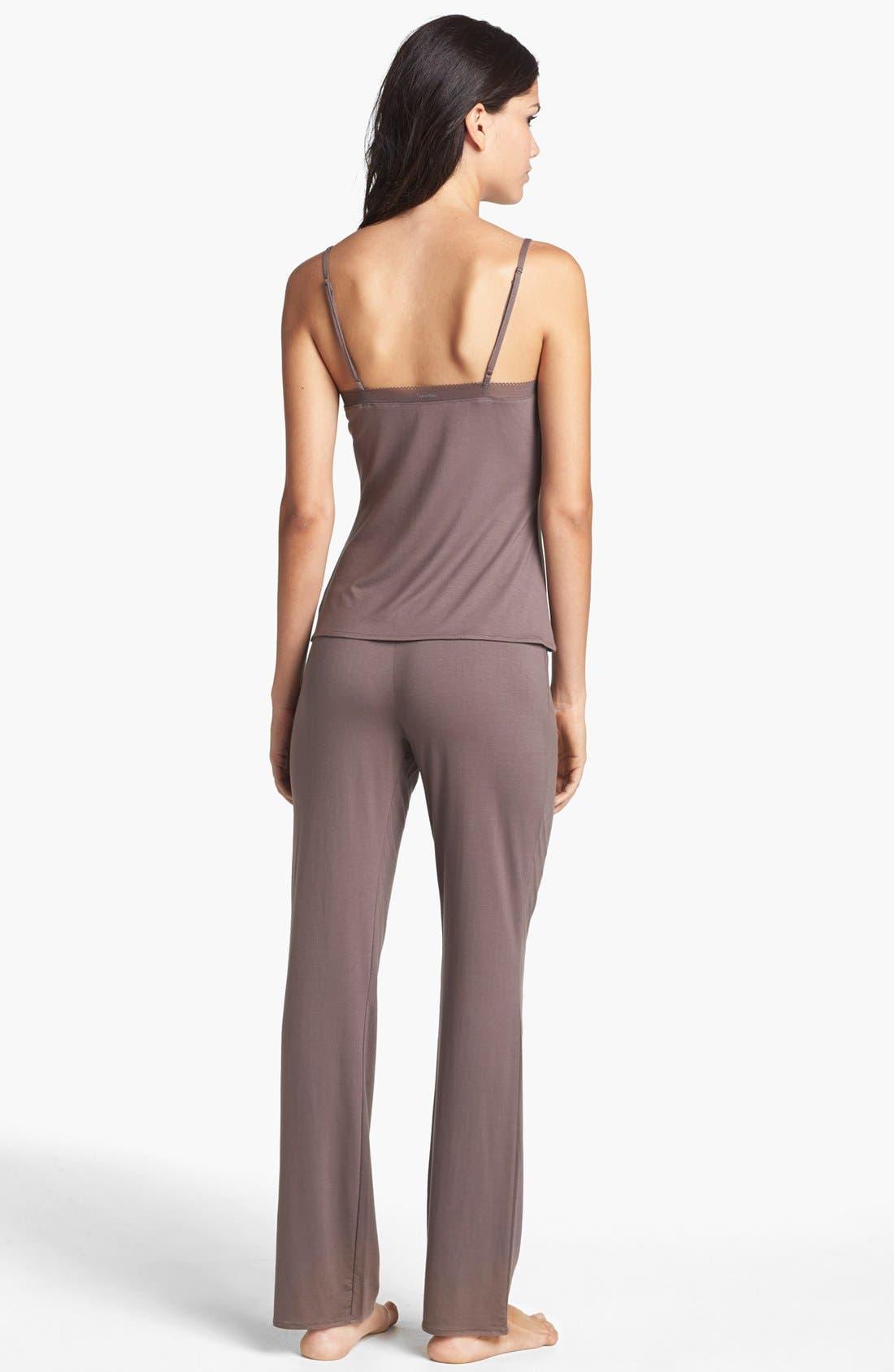 Alternate Image 4  - Calvin Klein 'Icon' Pajama Pants