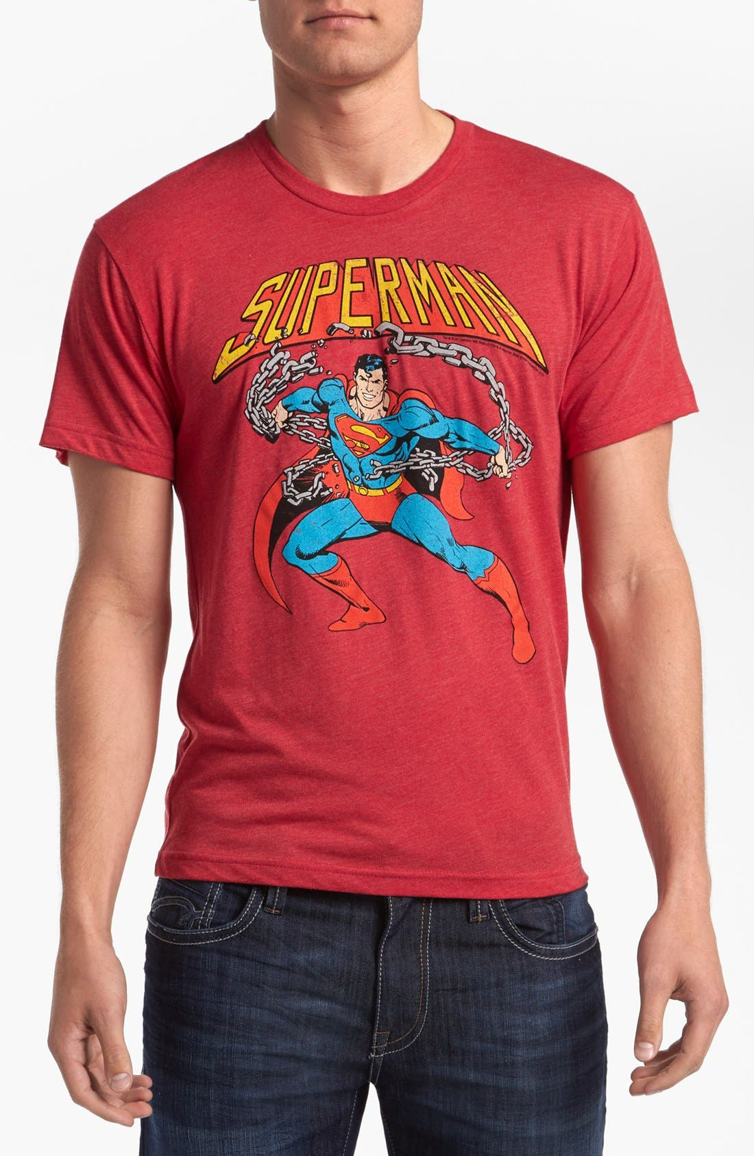 Alternate Image 1 Selected - Free Authority 'Action Hero' T-Shirt