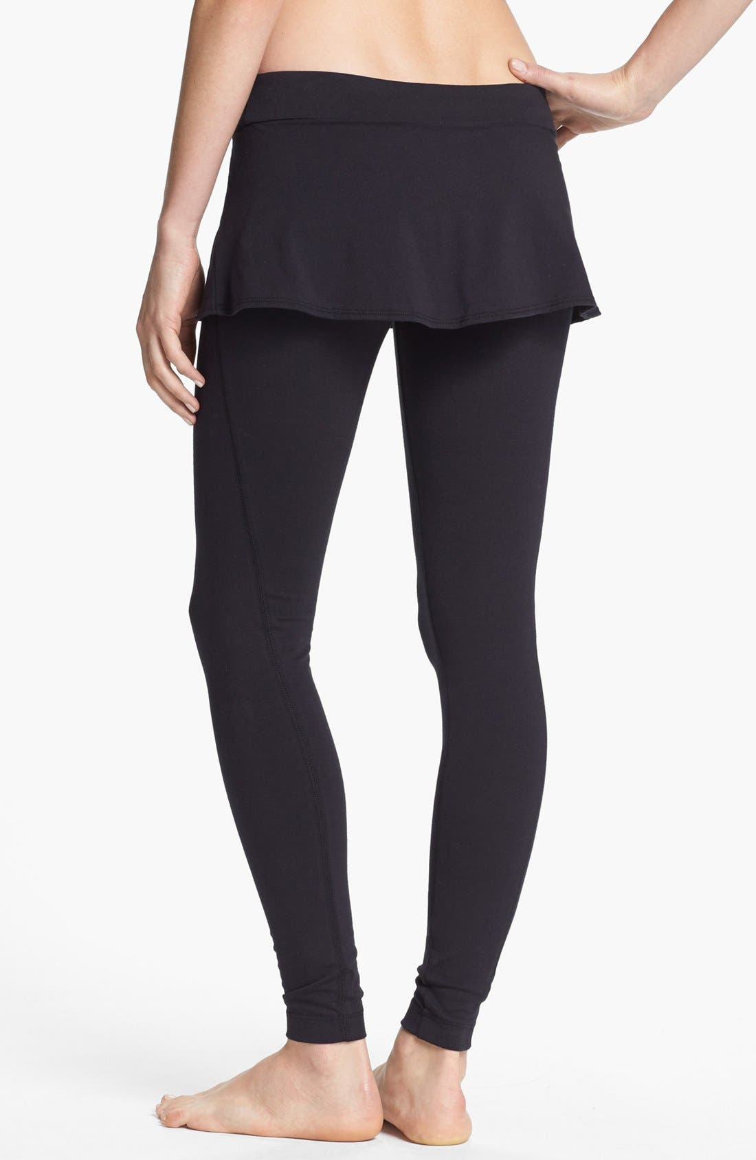 Alternate Image 2  - Unit-Y Peplum Leggings